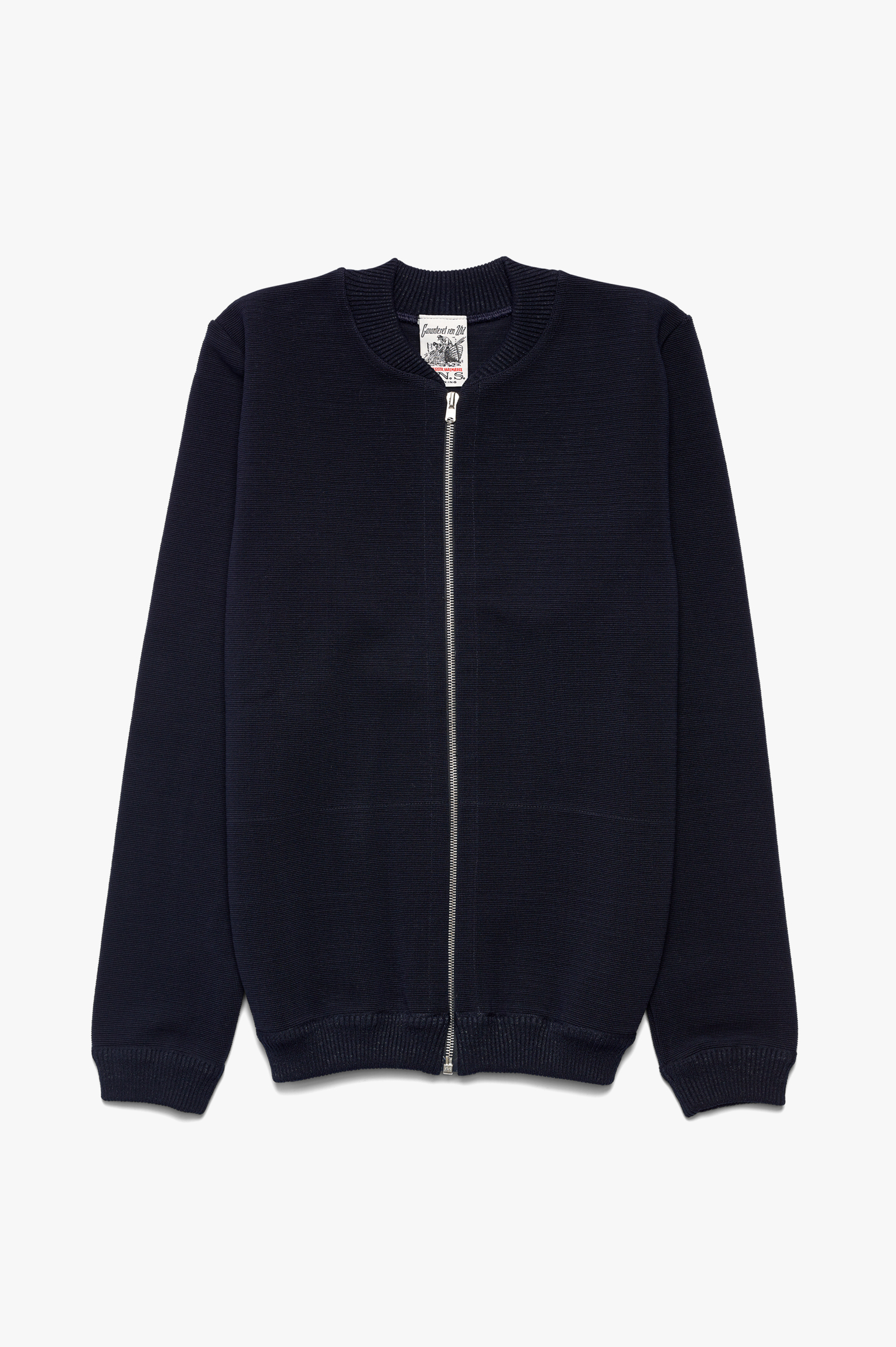 Handle Zip Jacket Navy