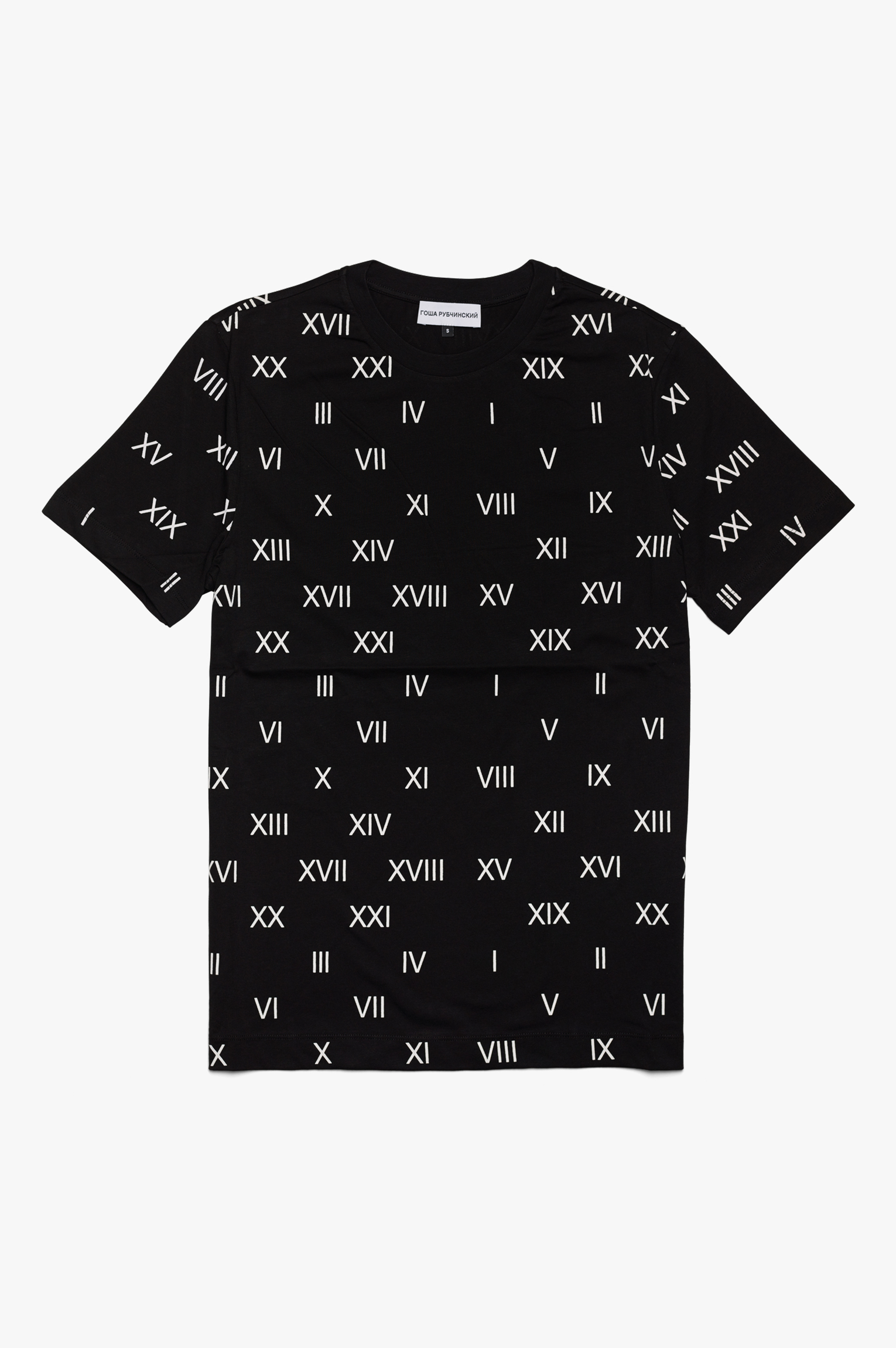 All Over Print T-Shirt Black