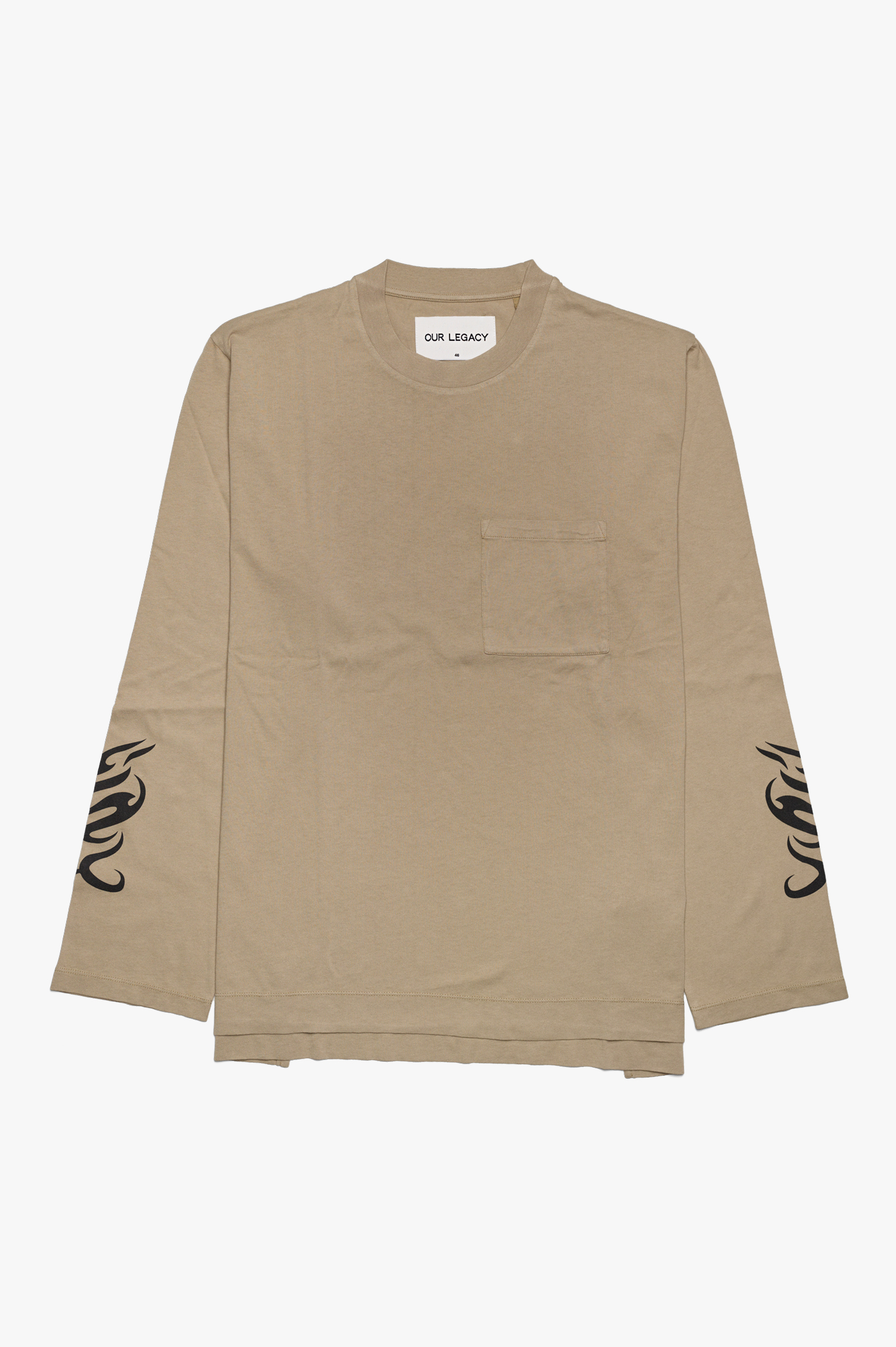 Box Longsleeve Sand Tribal Army Jersey