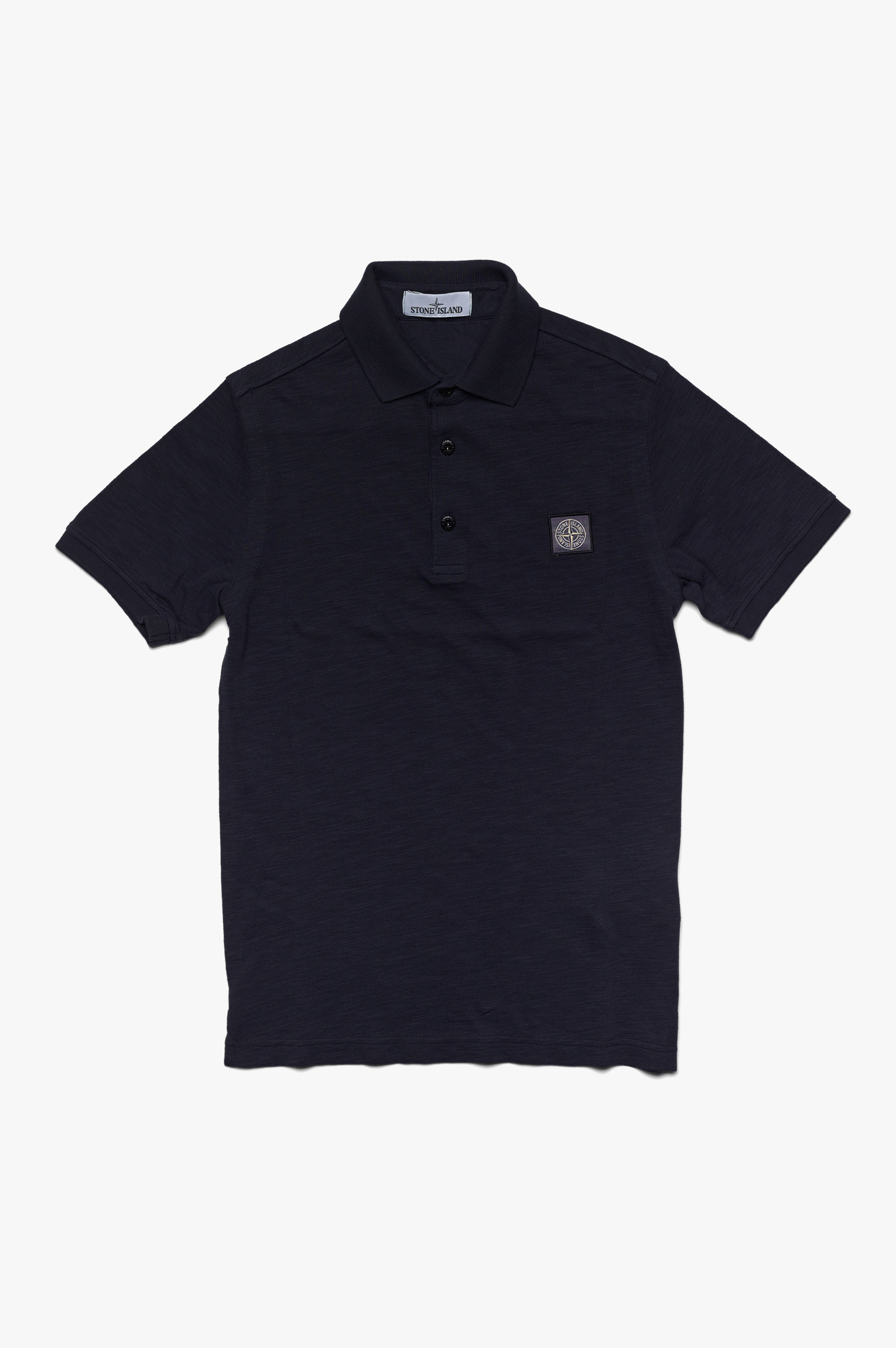 Washed Polo Navy