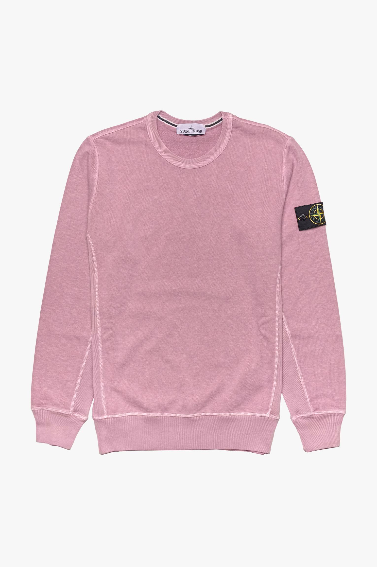 Washed Sweatshirt Pink