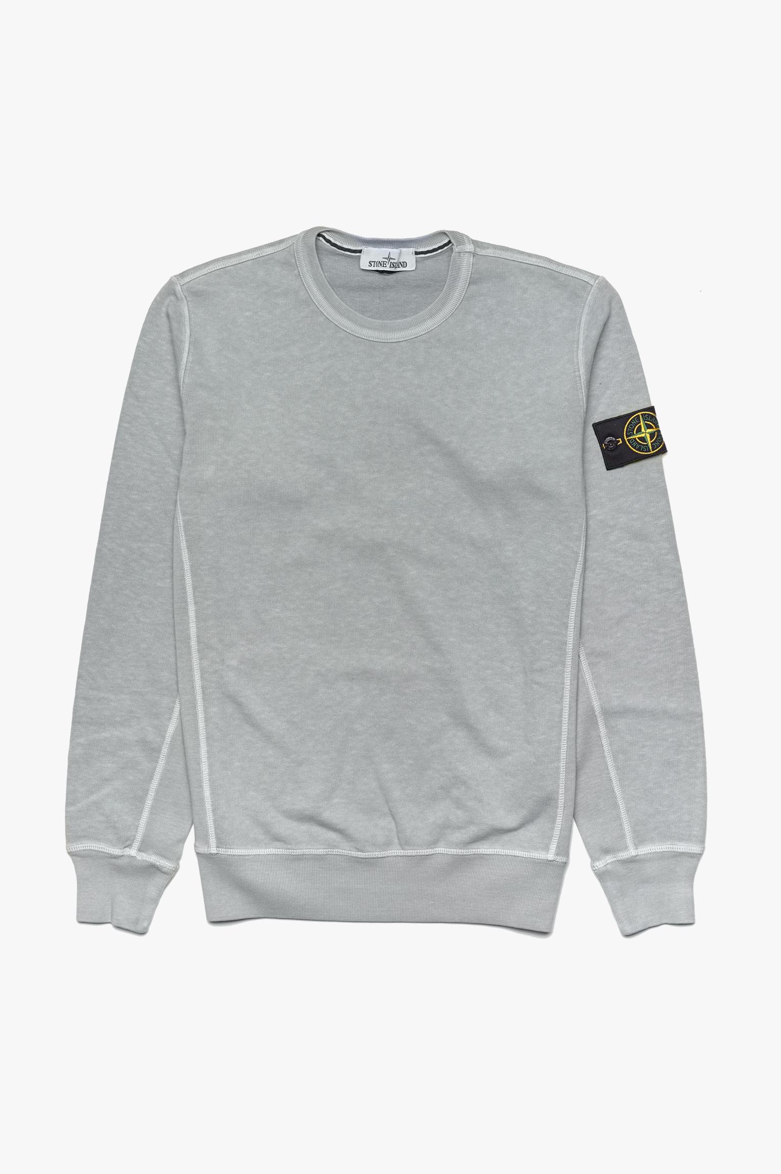 Washed Sweatshirt Light Grey