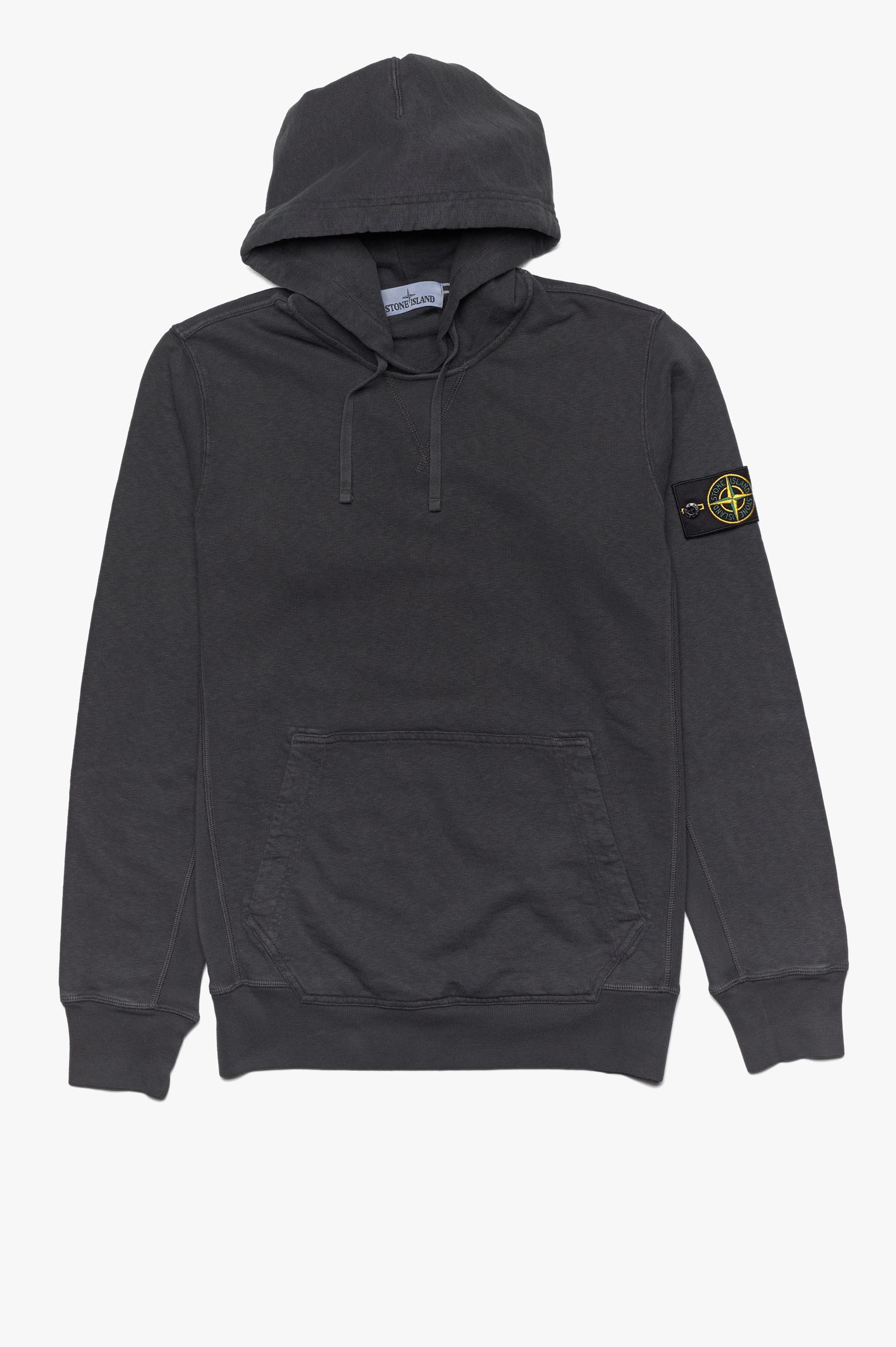 Washed Hoodie Dark Grey