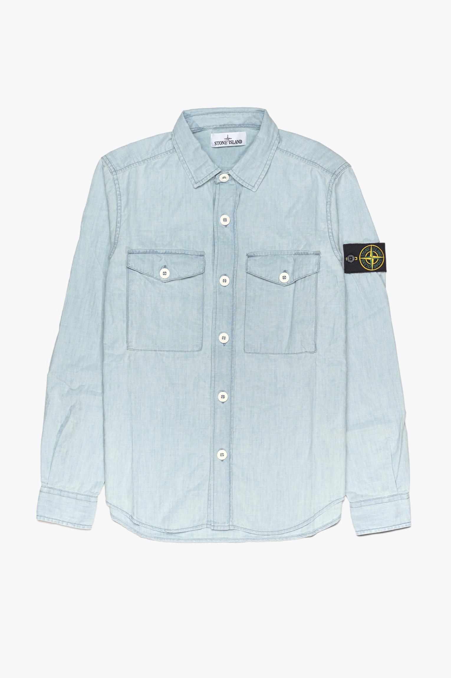 Chambray Shirt Light Blue