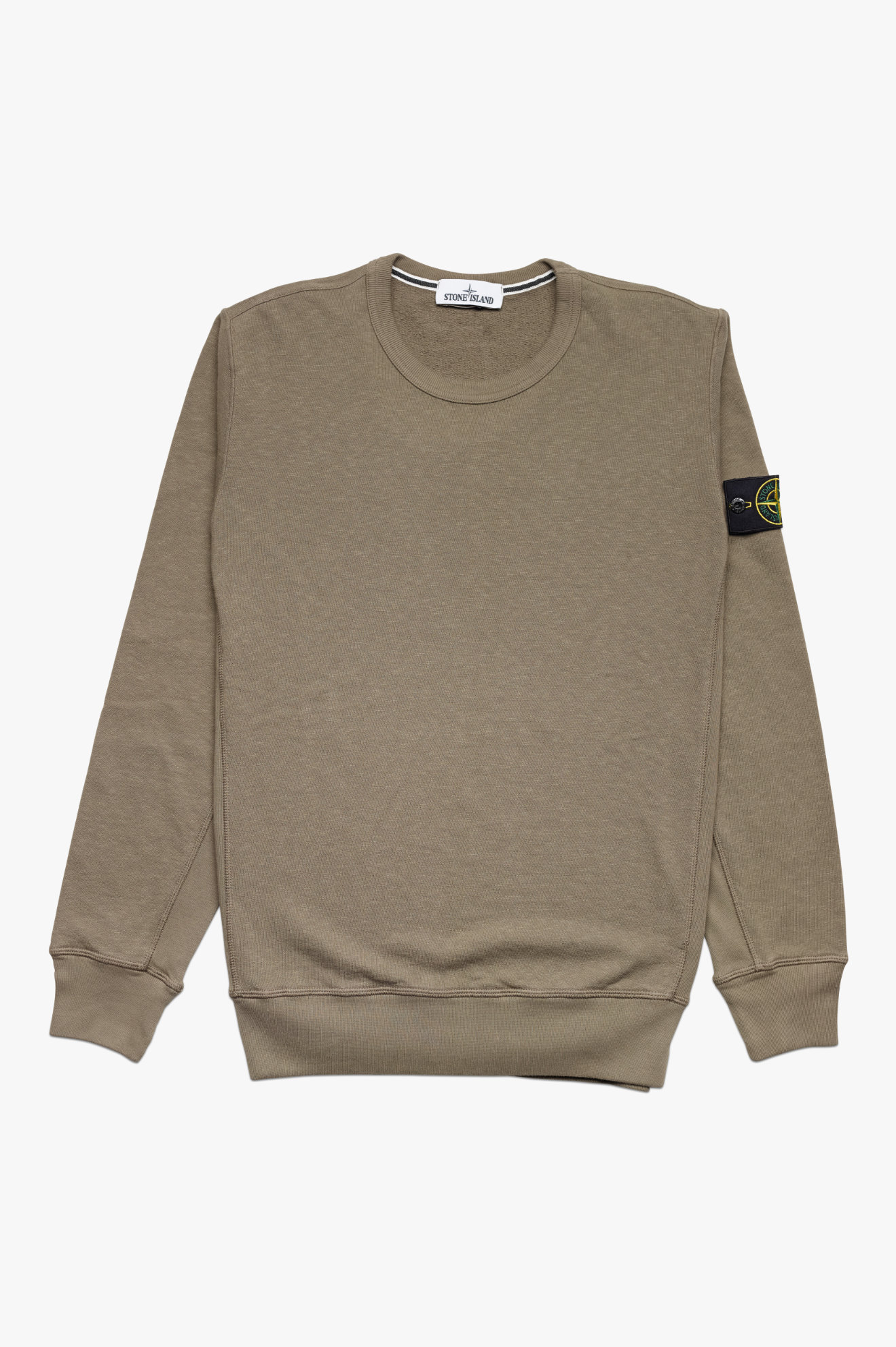 Washed Sweatshirt Olive