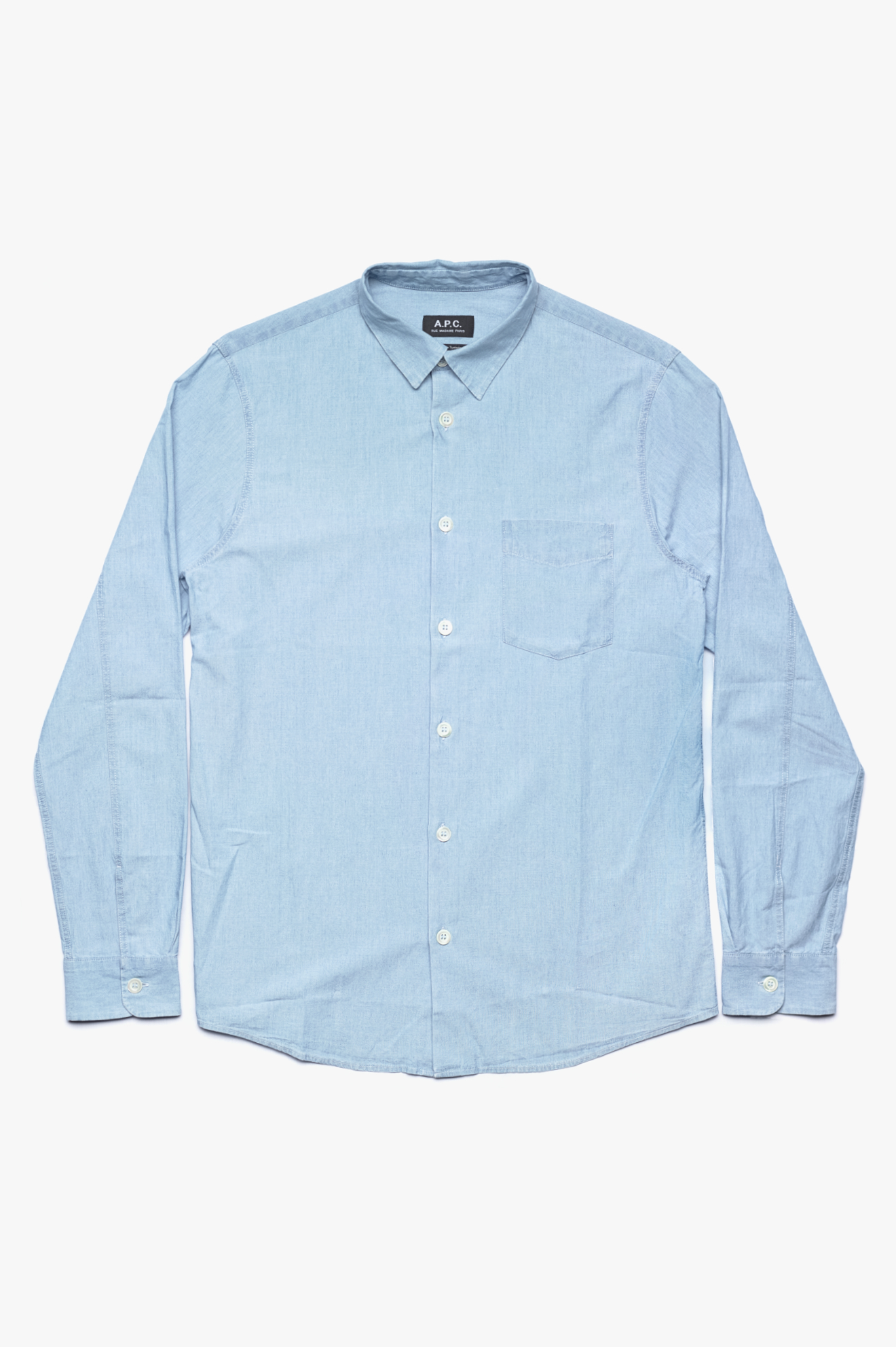 Xavier Shirt Stone Washed Indigo