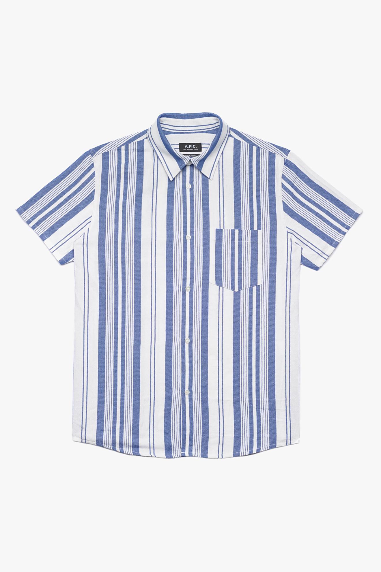 Bryan Short Sleeve Shirt Blue