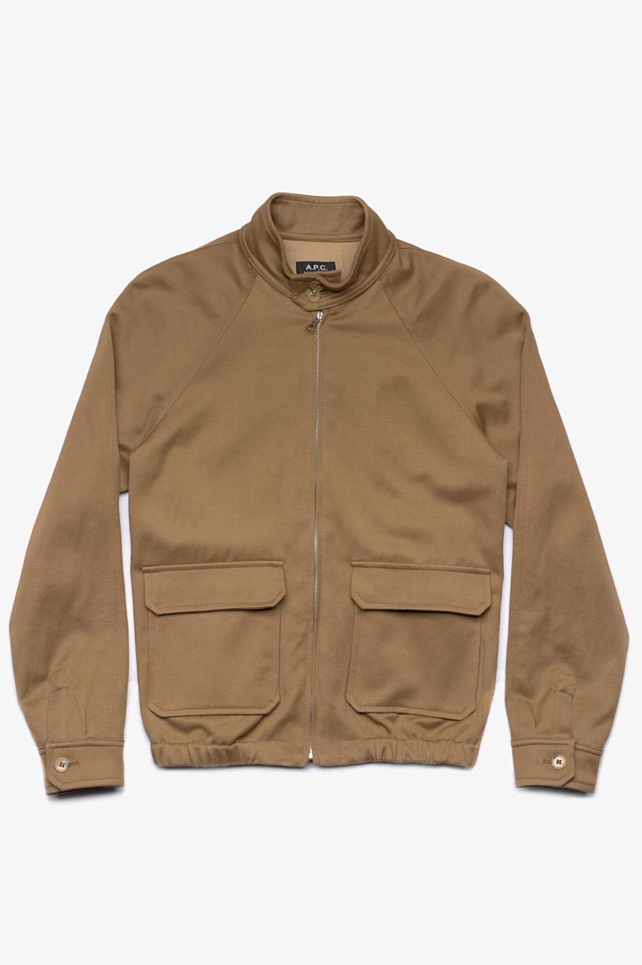 Rough Jacket Brown