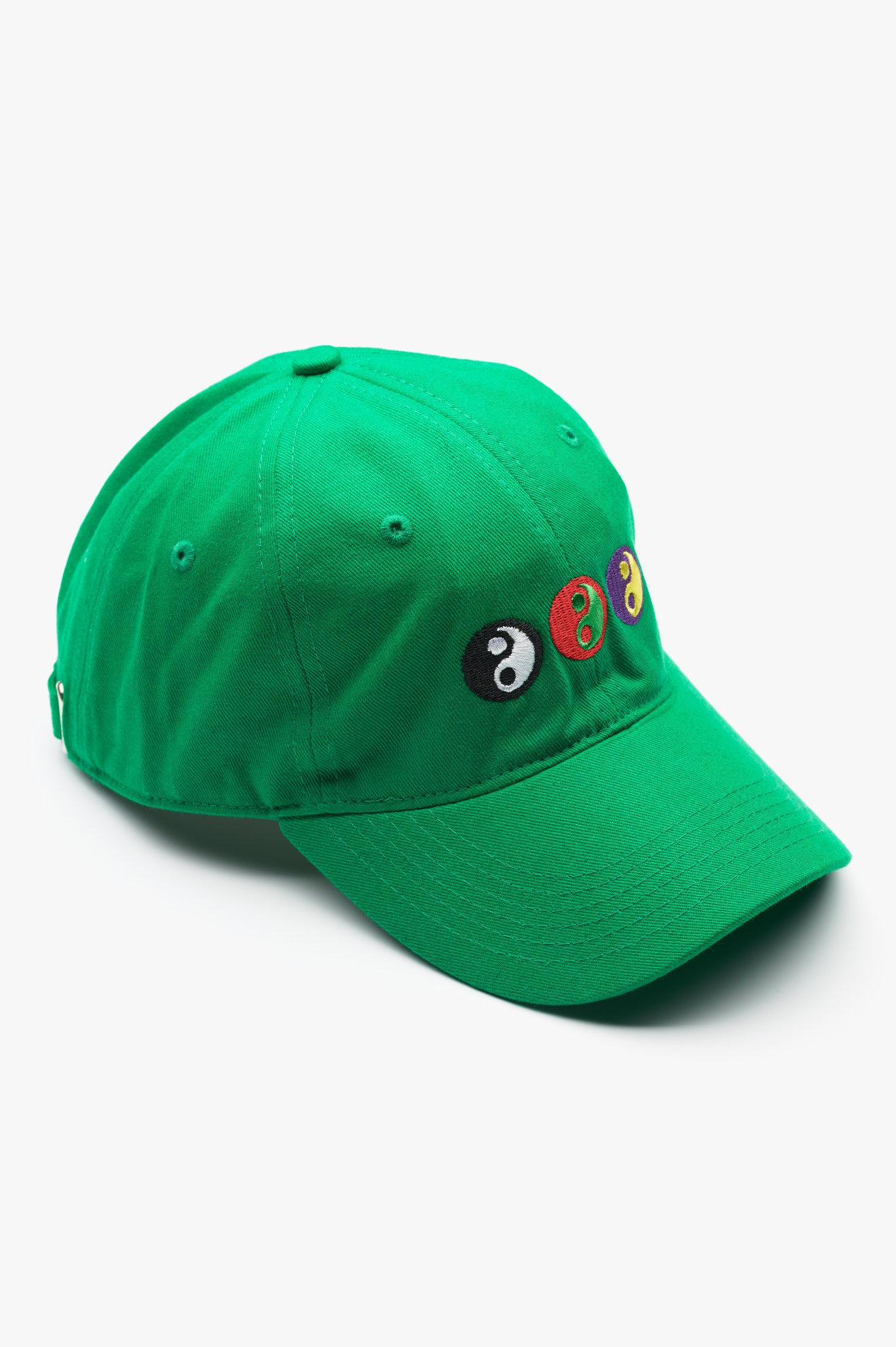 Yin Yang Baseball Cap Green