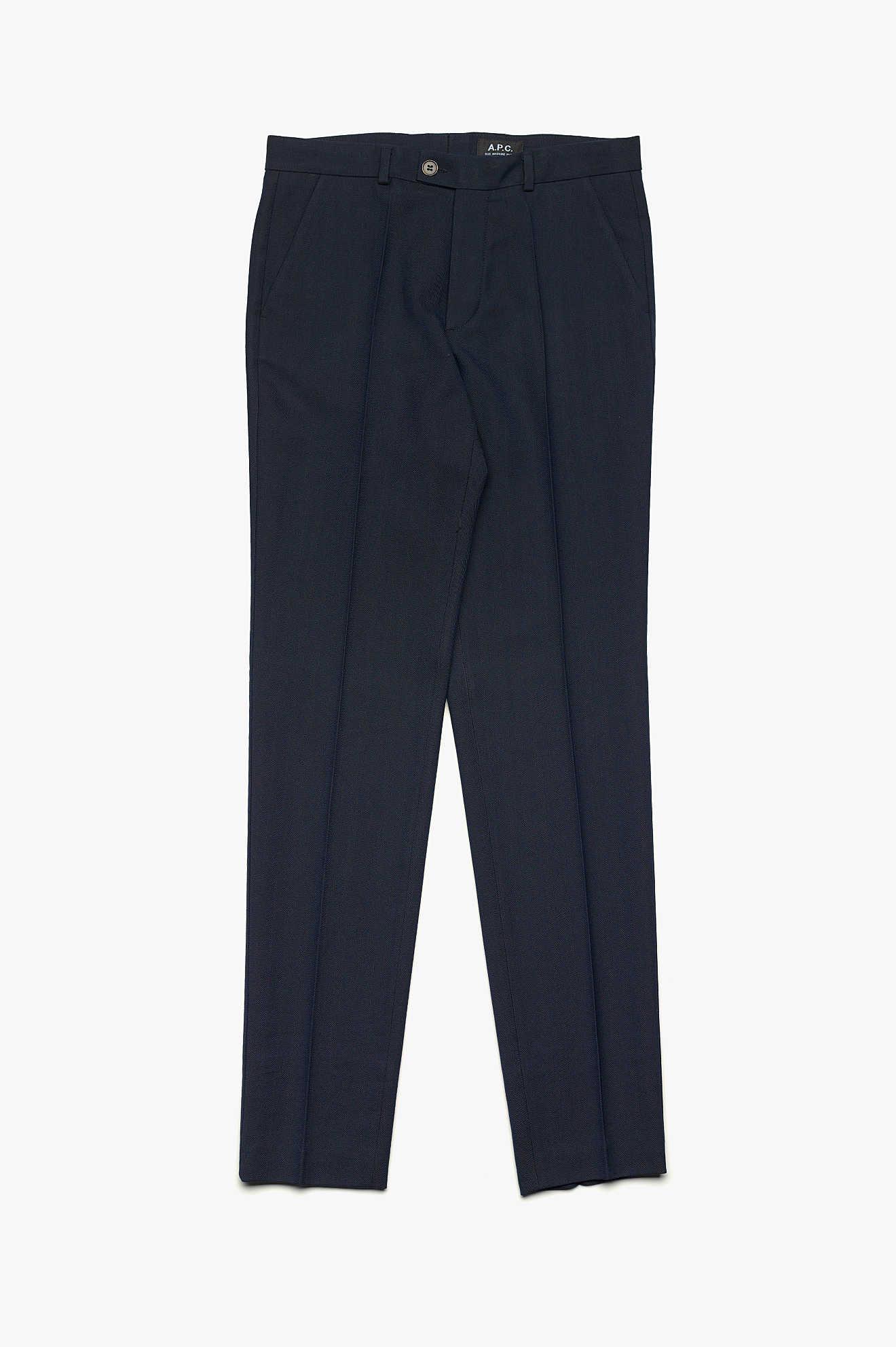Monroe Trousers Dark Navy