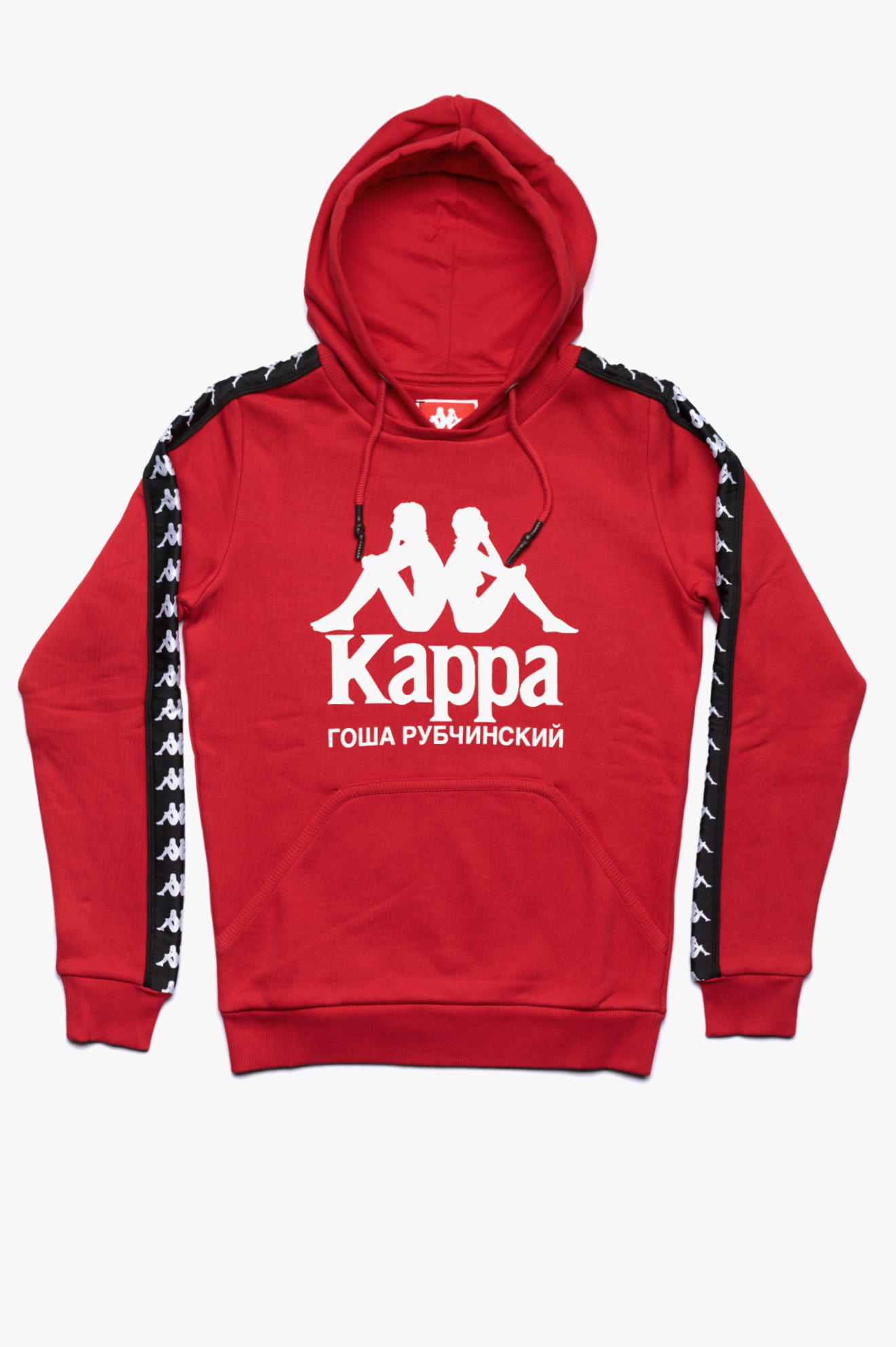 Kappa Hooded Sweatshirt Red