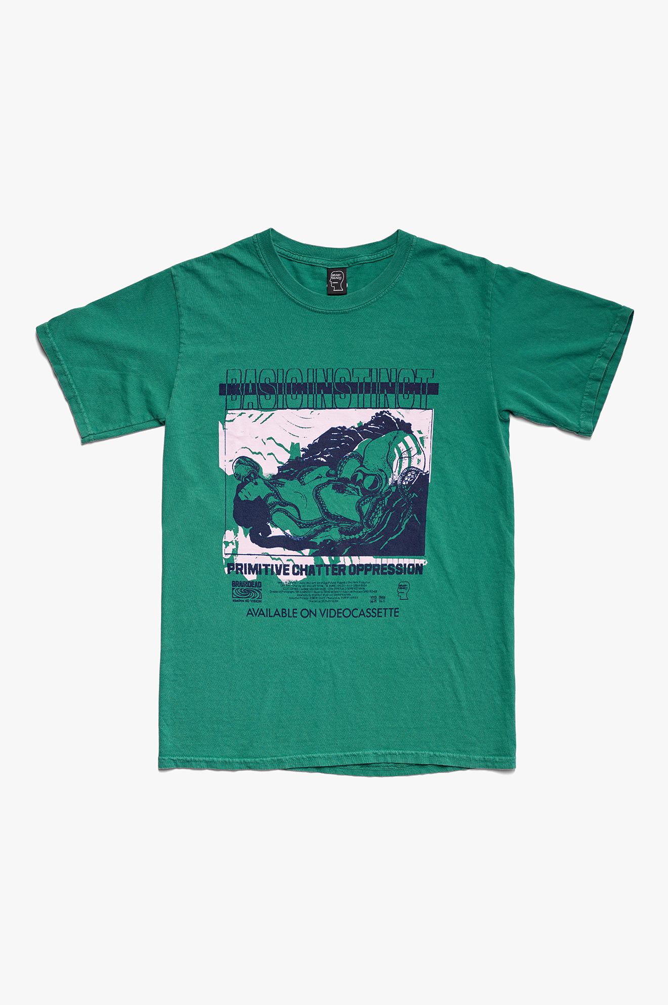 Basic Instinct T-Shirt Green
