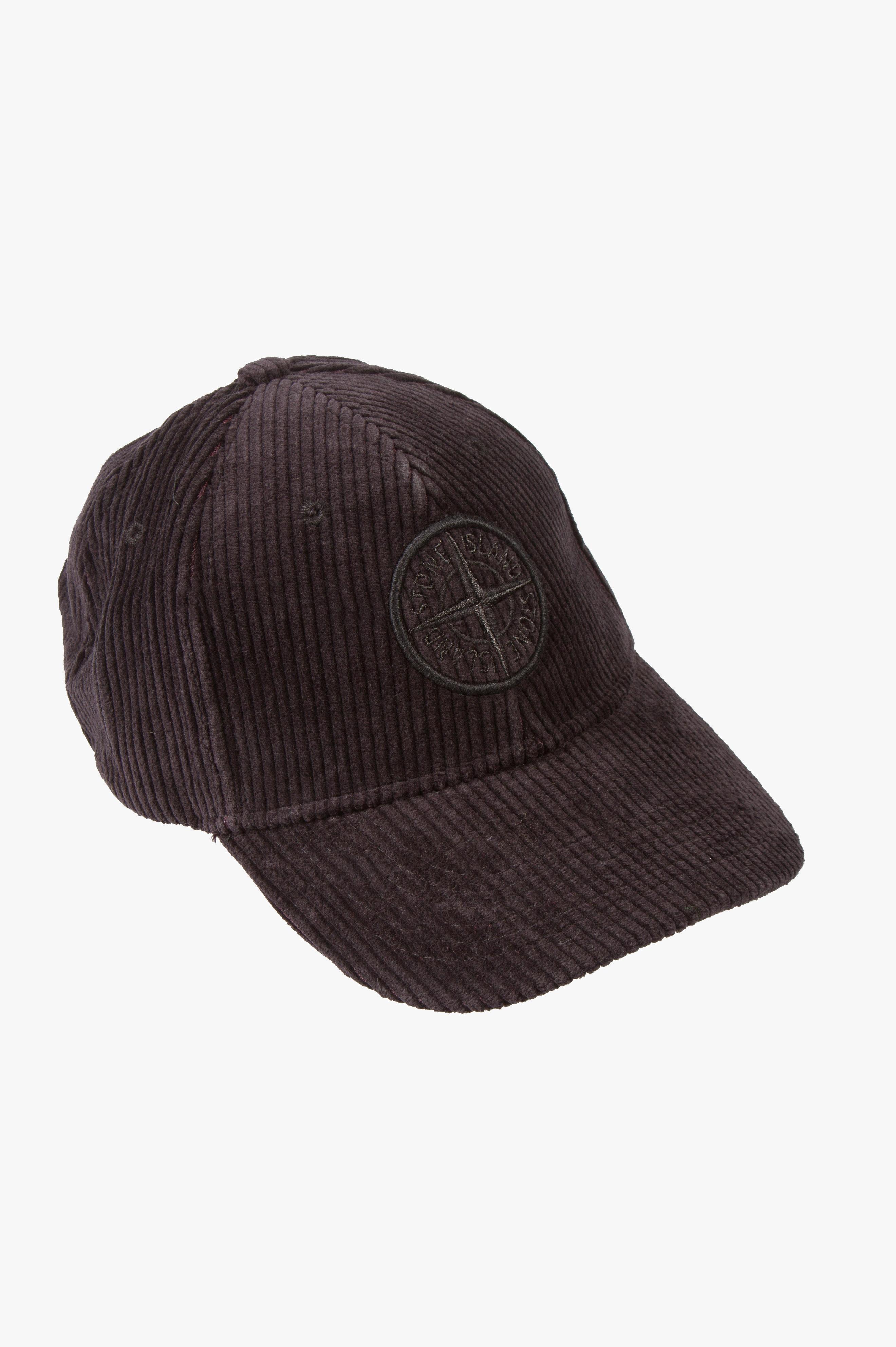 Corduroy Cap Black