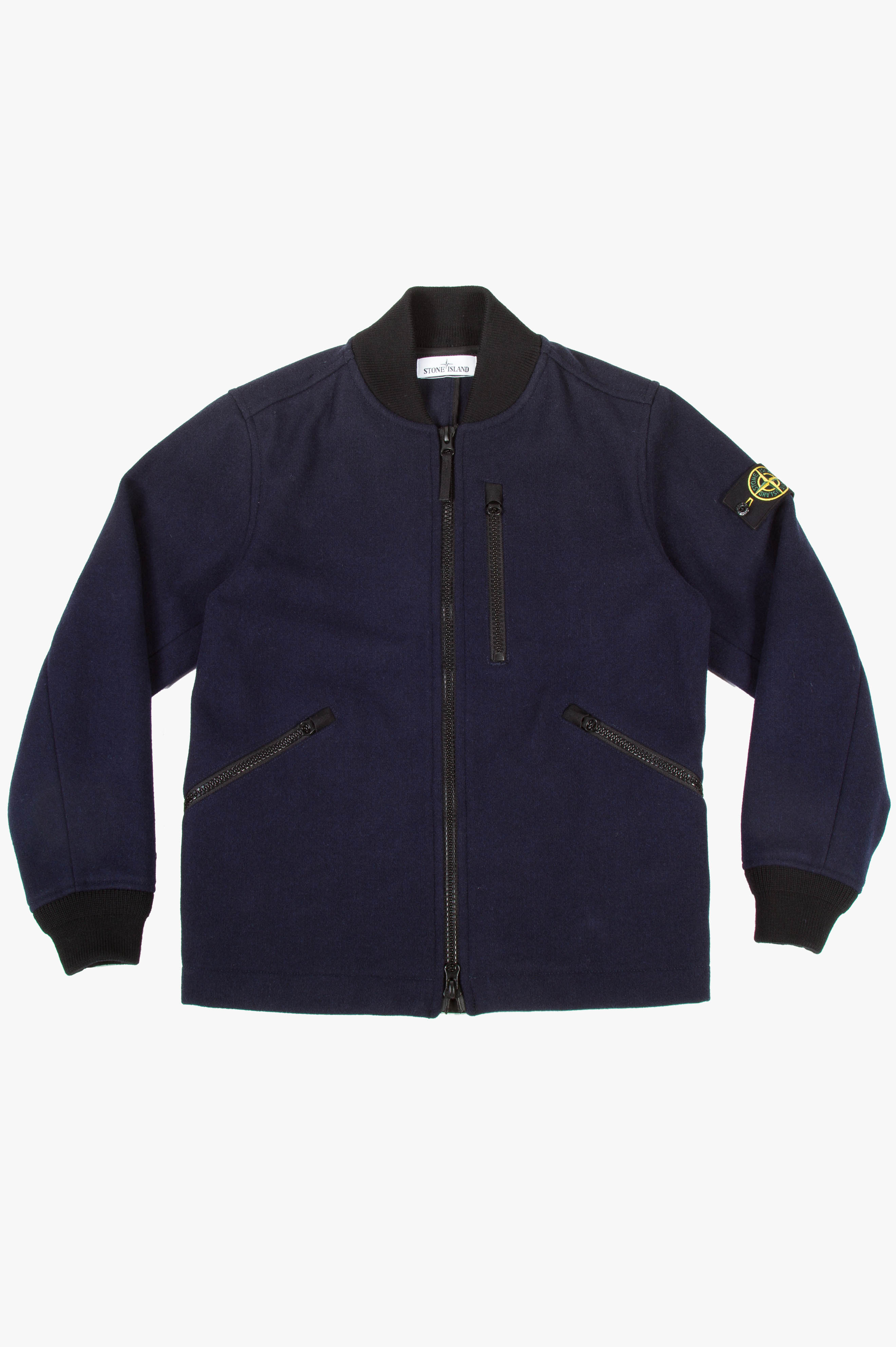 Panno Speciale Bomber Jacket Navy