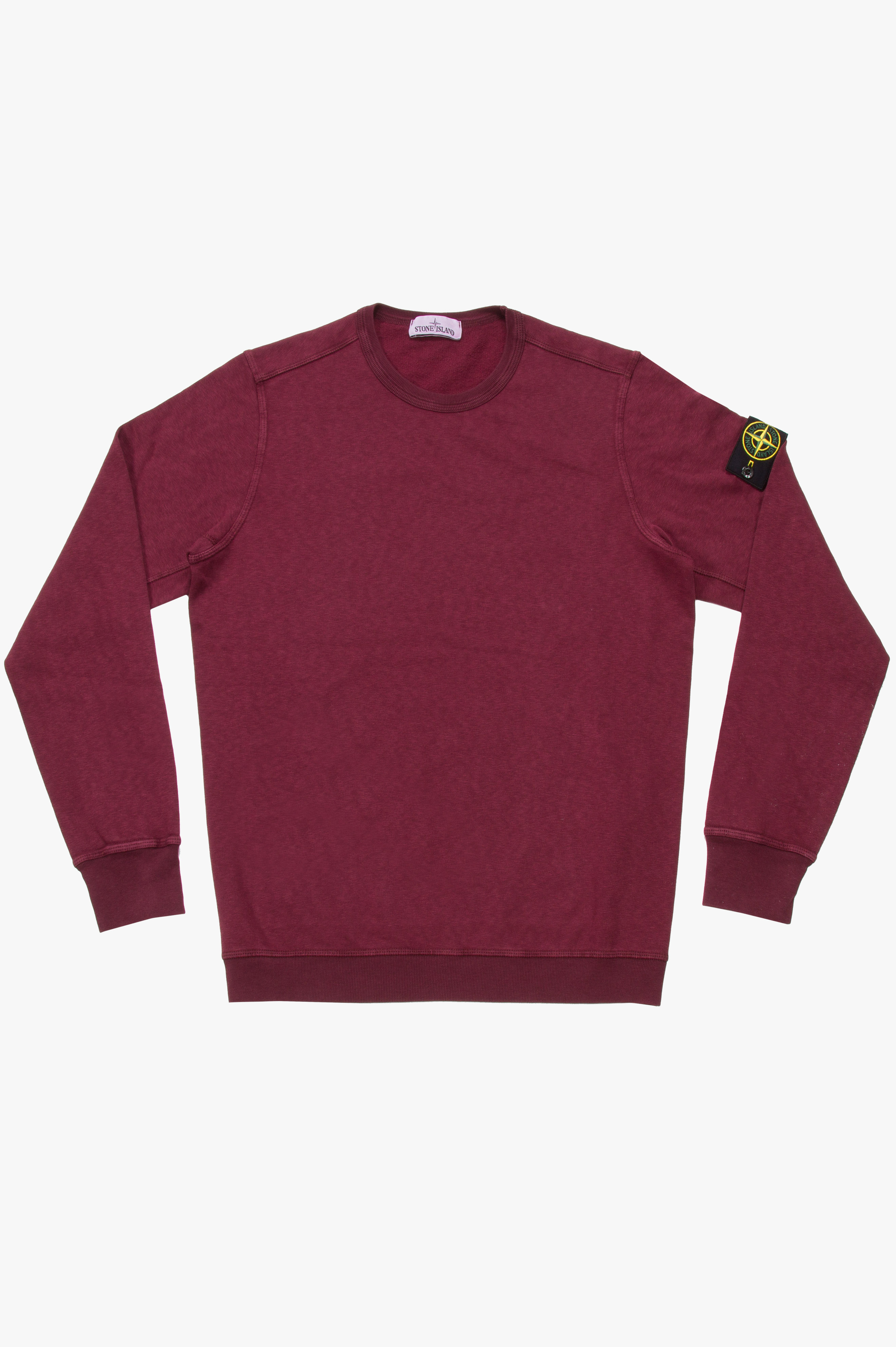Crew Neck Sweatshirt Burgundy