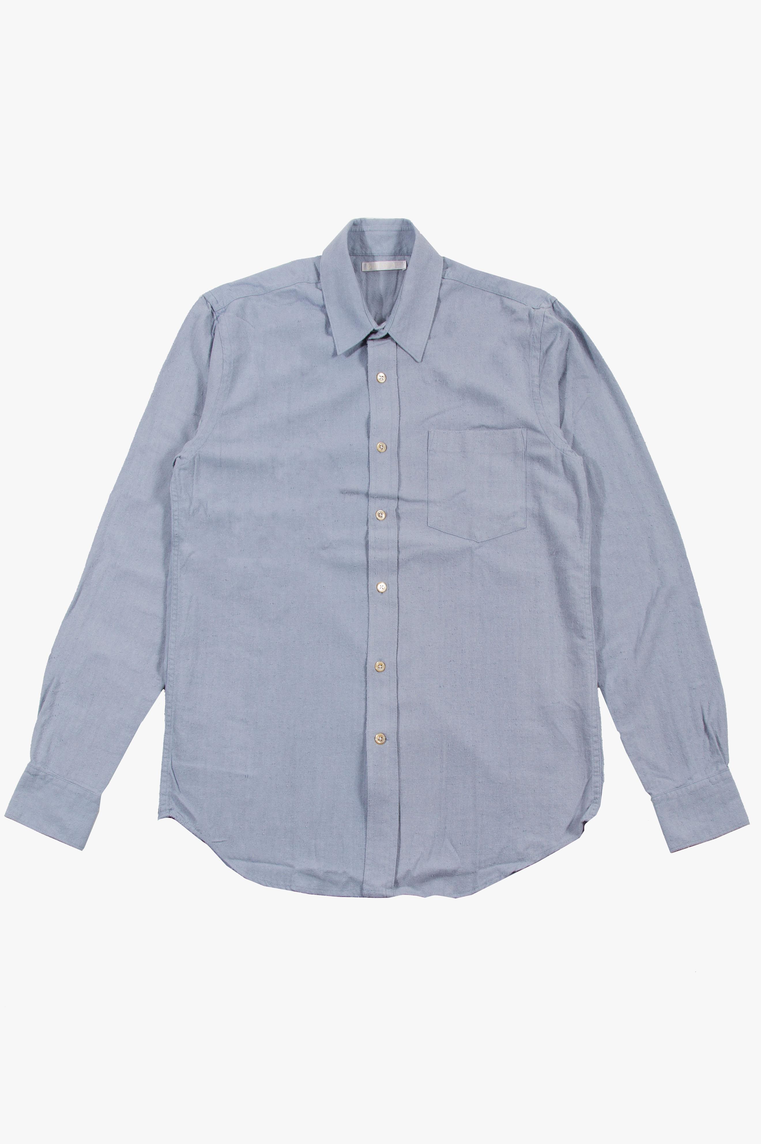 Classic Shirt Light Blue Silk