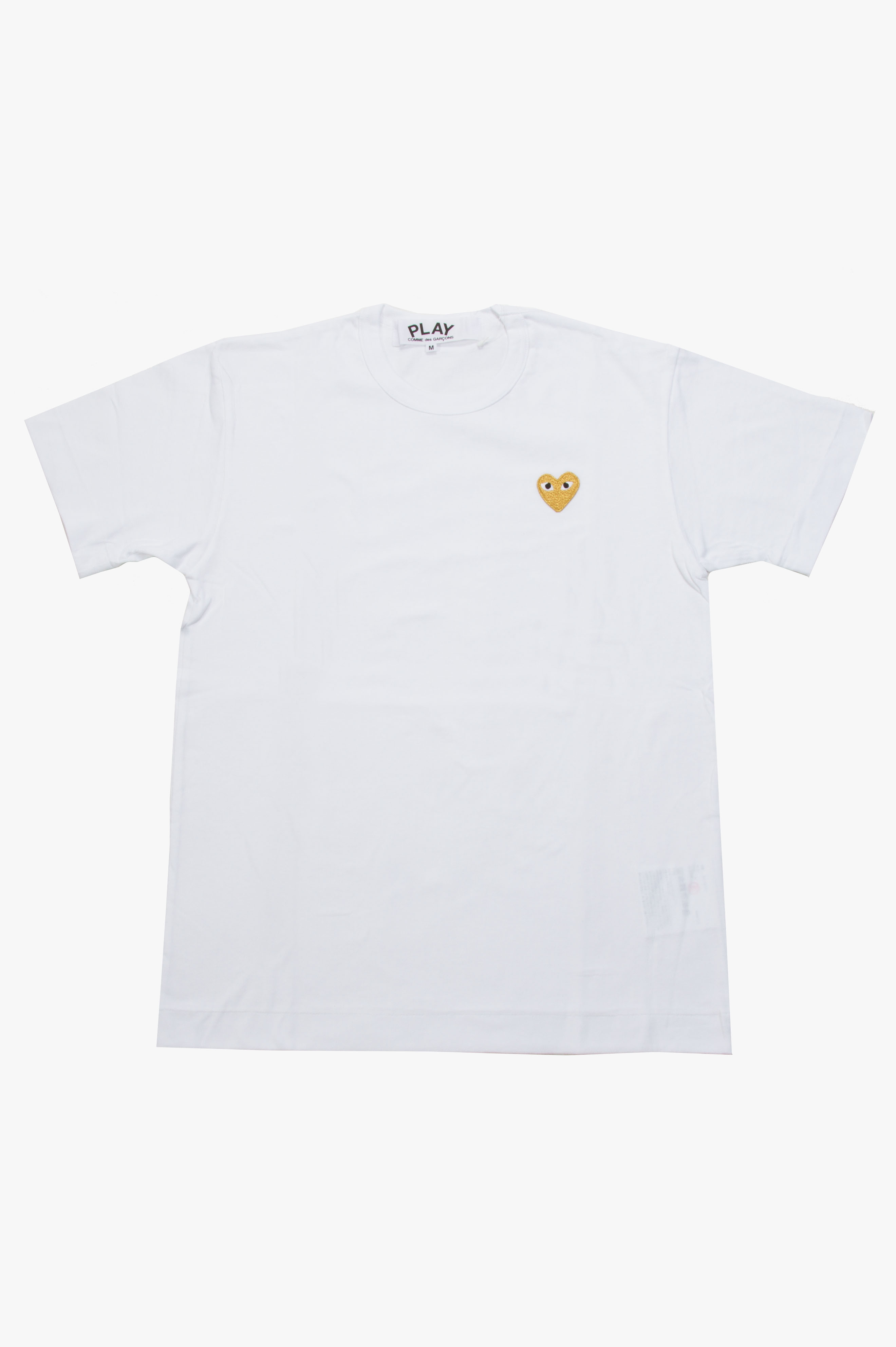 Gold Heart T-Shirt White
