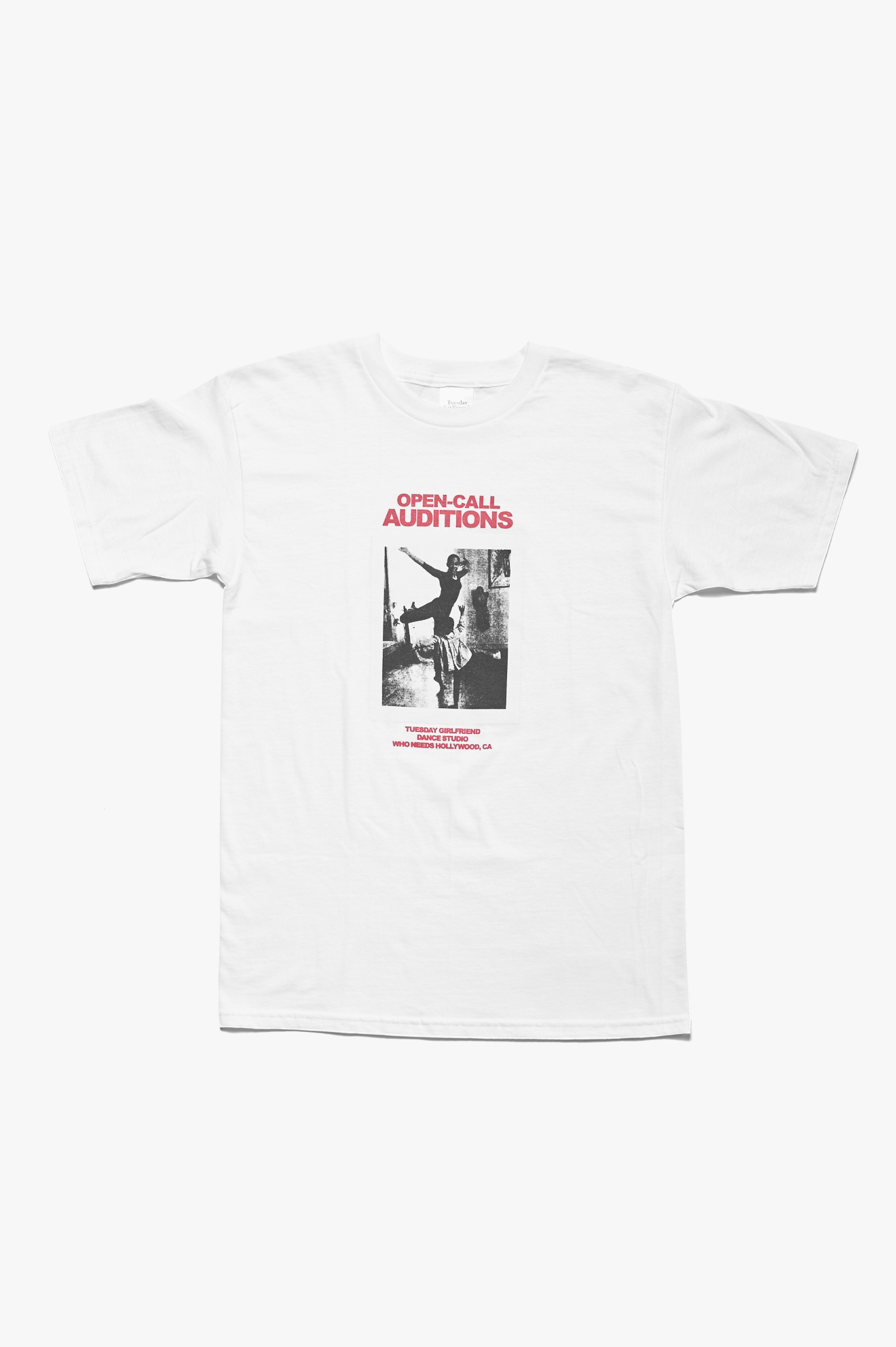 Open-Call T-Shirt White