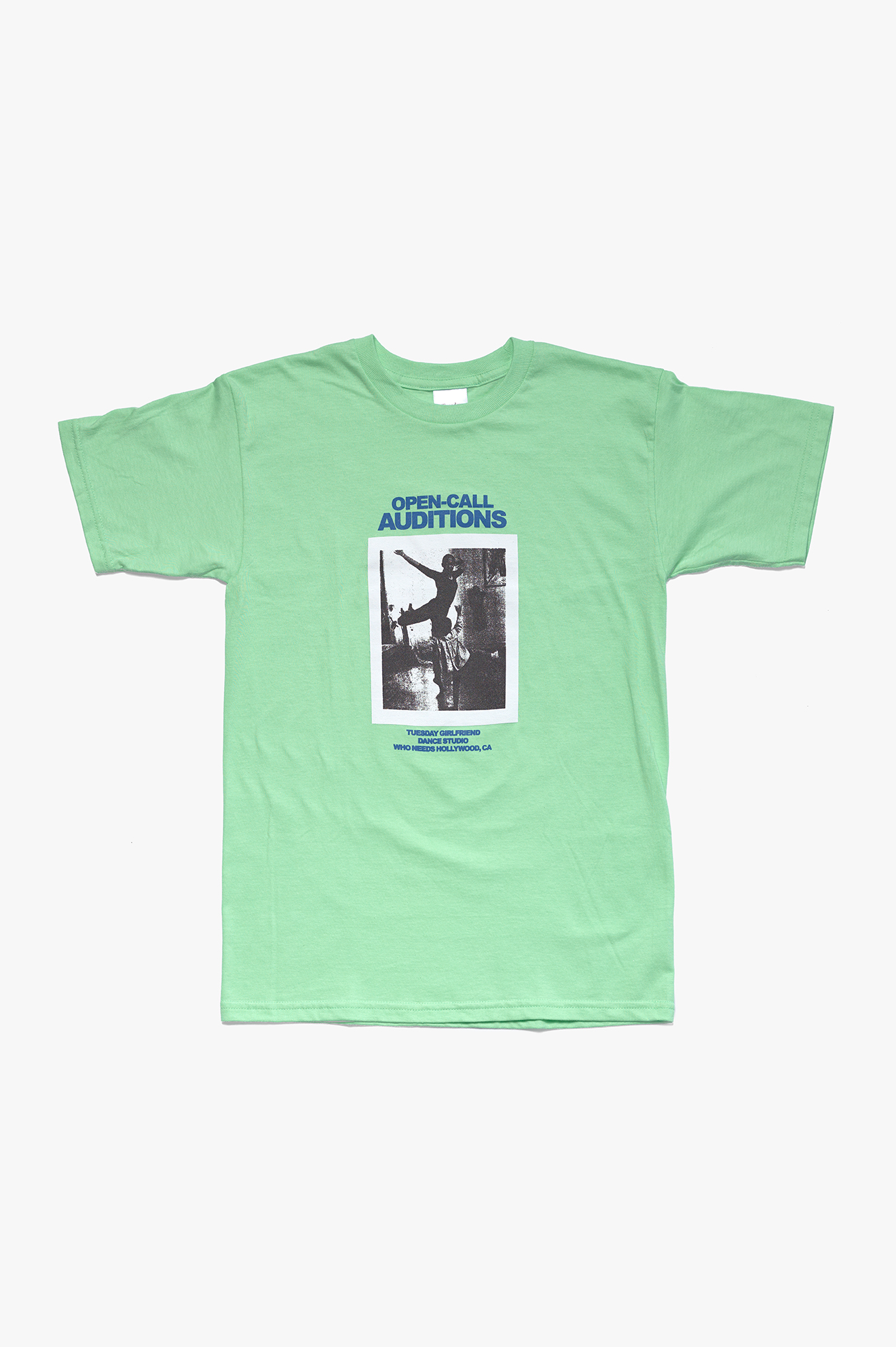 Open-Call T-Shirt Mint