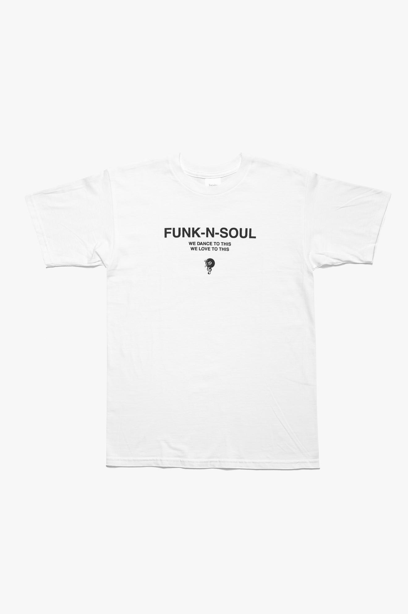 Funk-n-Soul T-Shirt White