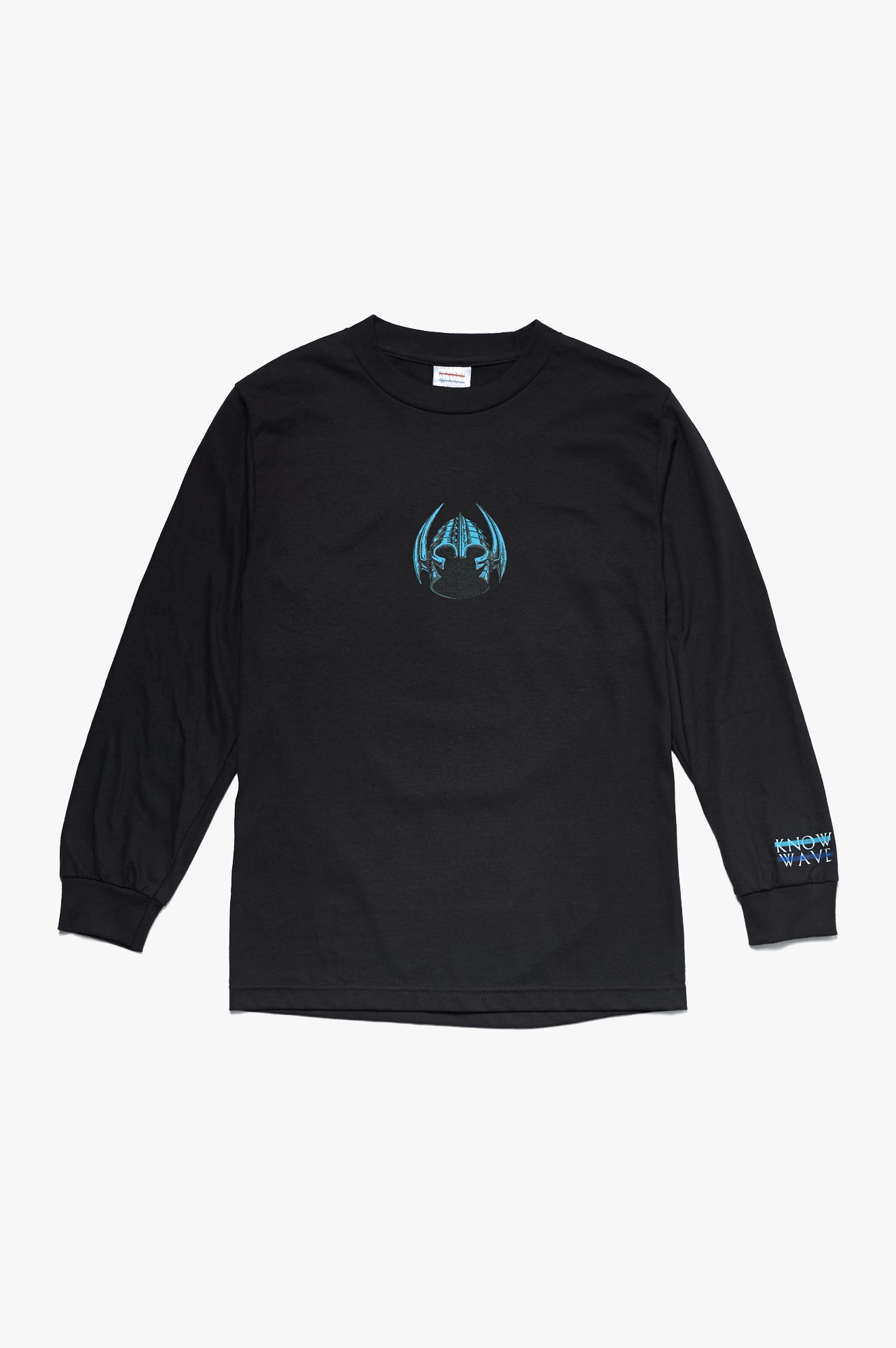 Skate Wise Long Sleeve T-Shirt Black