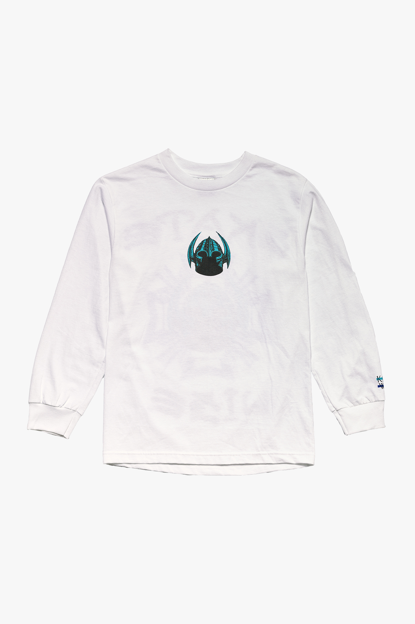 Skate Wise Long Sleeve T-Shirt White