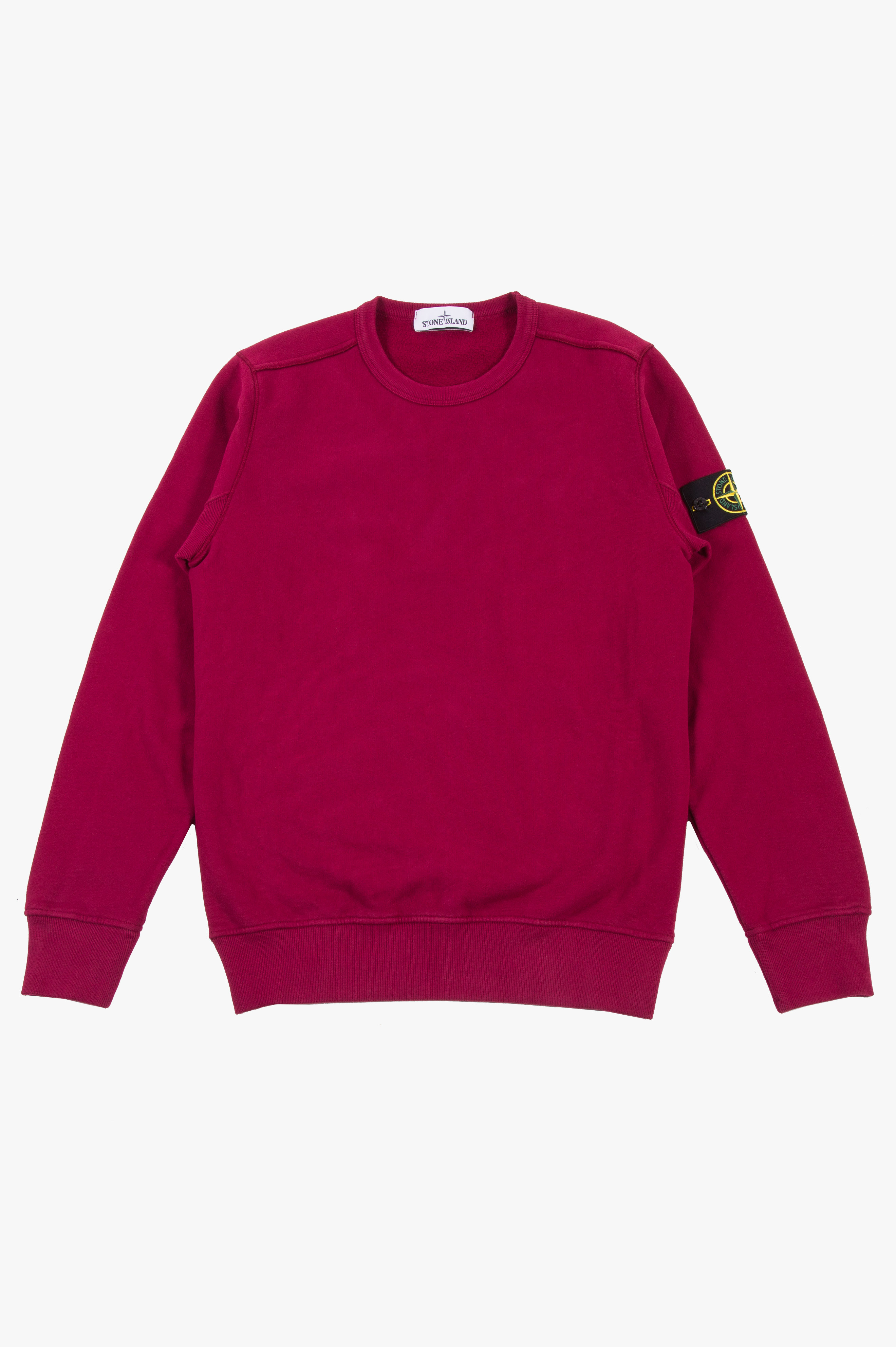 Cotton Fleece Sweatshirt Magenta