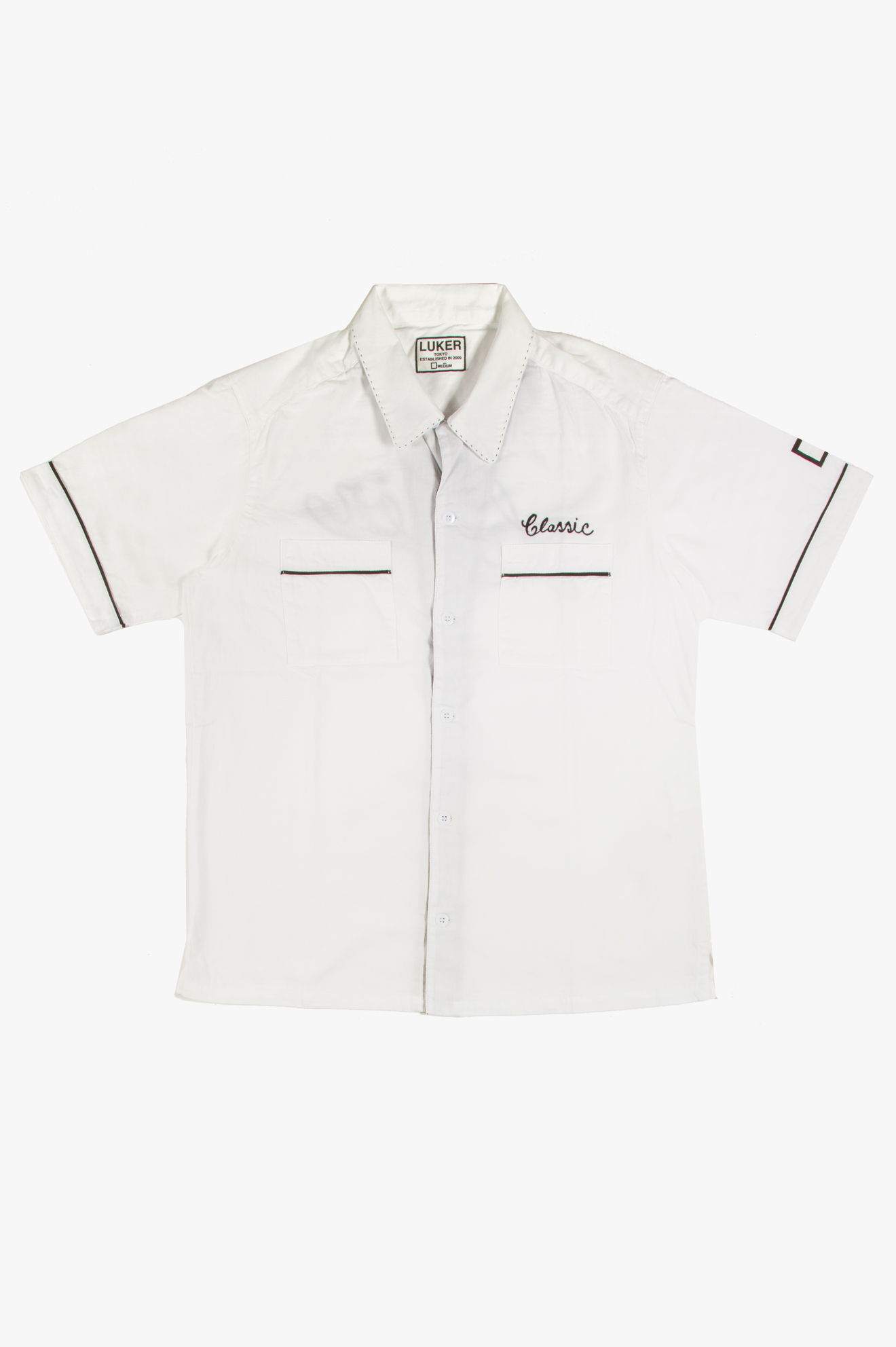Bowler SS Shirt White