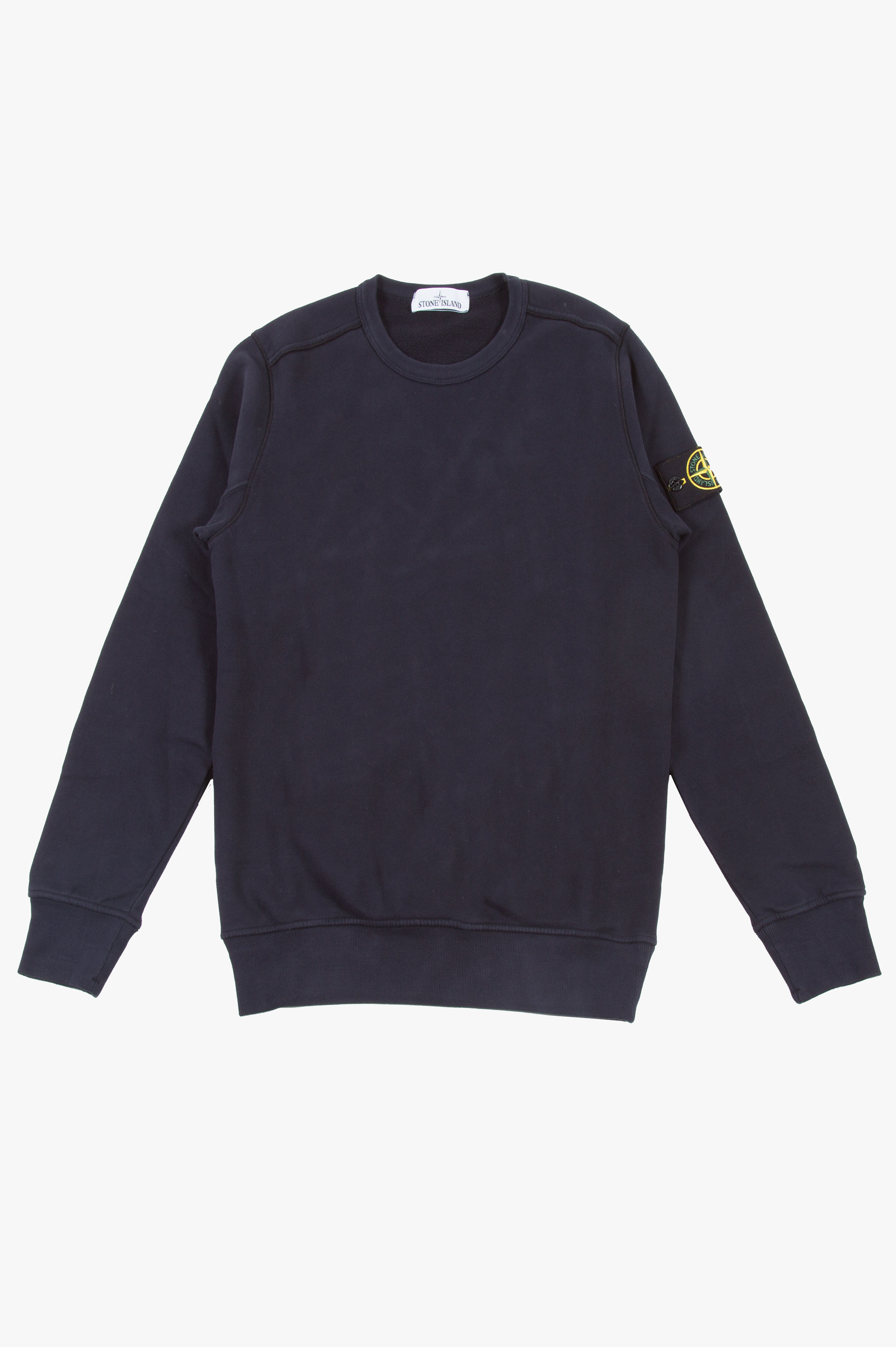 Cotton Fleece Sweatshirt Navy