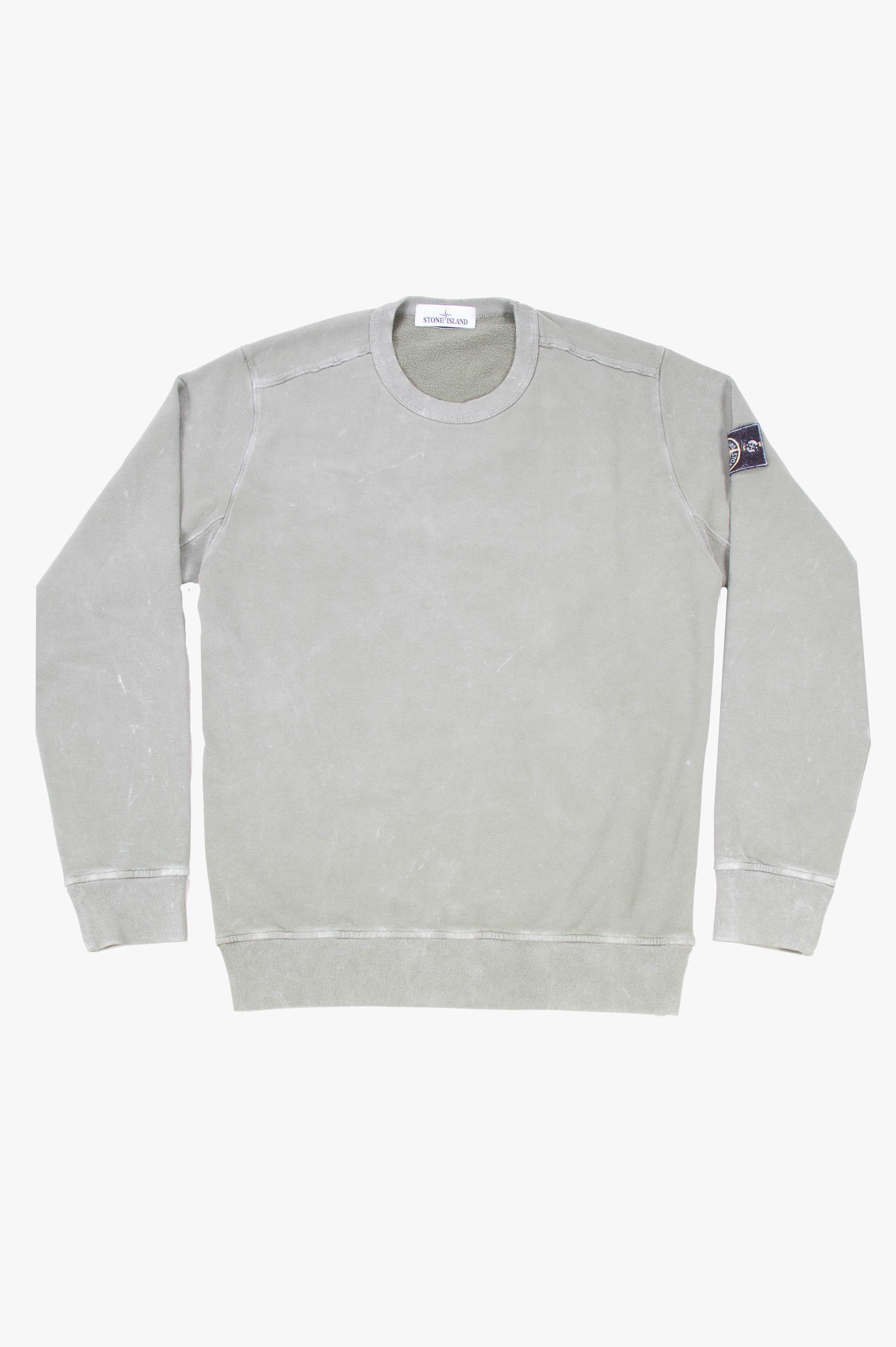 Garment Dyed Frost Crewneck Sweatshirt Sage Green