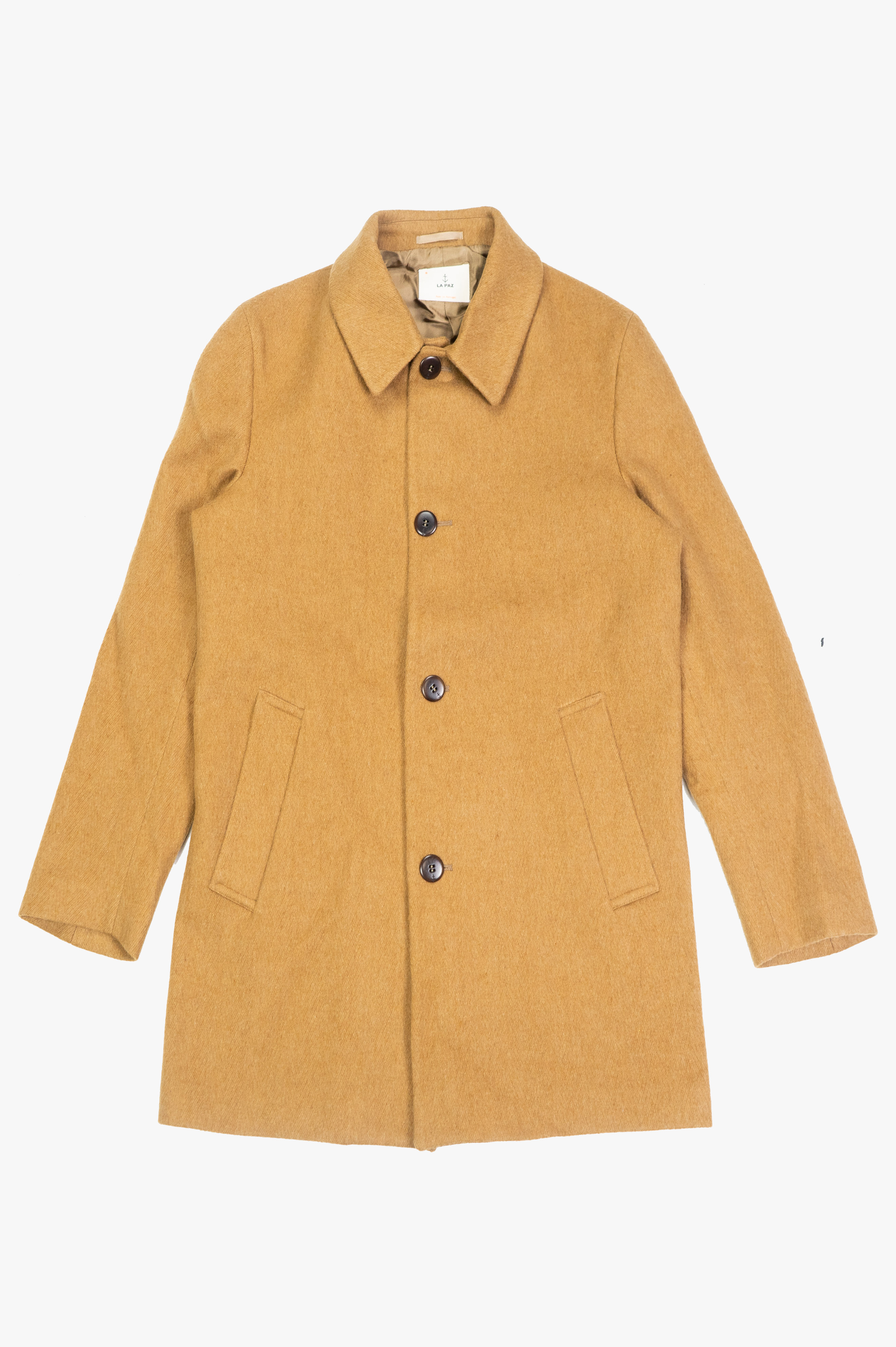 Heavey Overcoat Camel