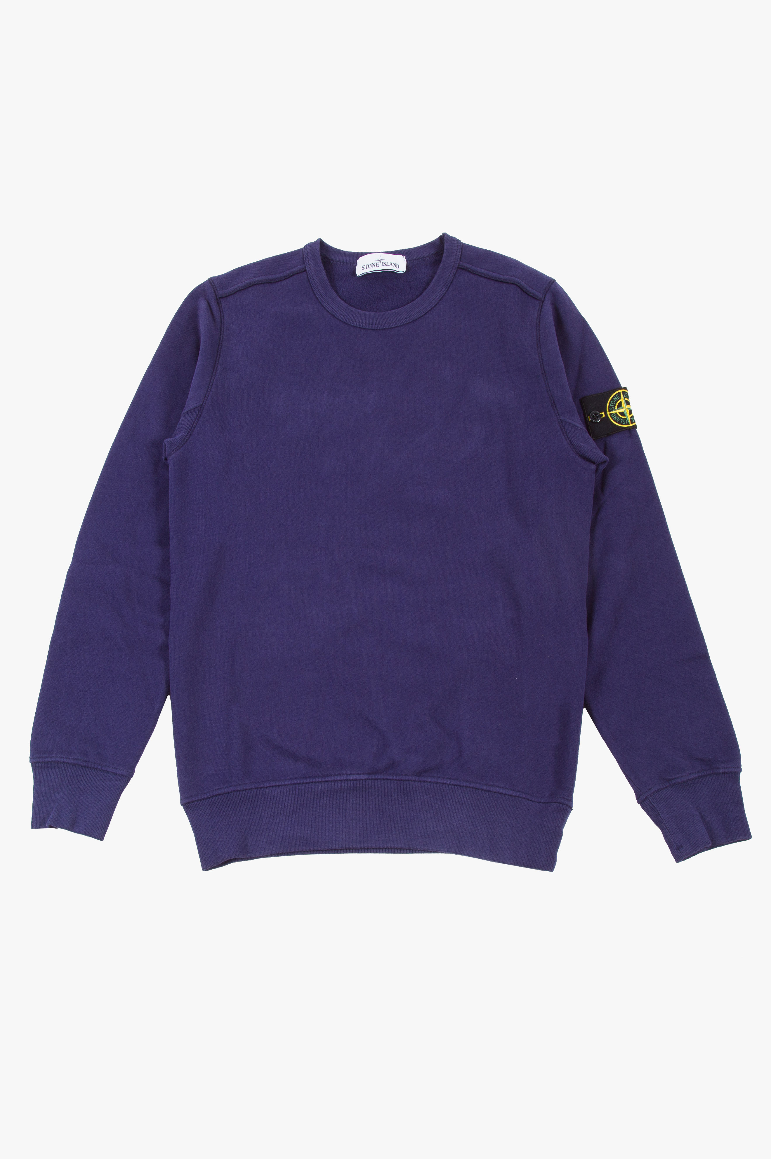 Cotton Fleece Sweatshirt Petrol Blue