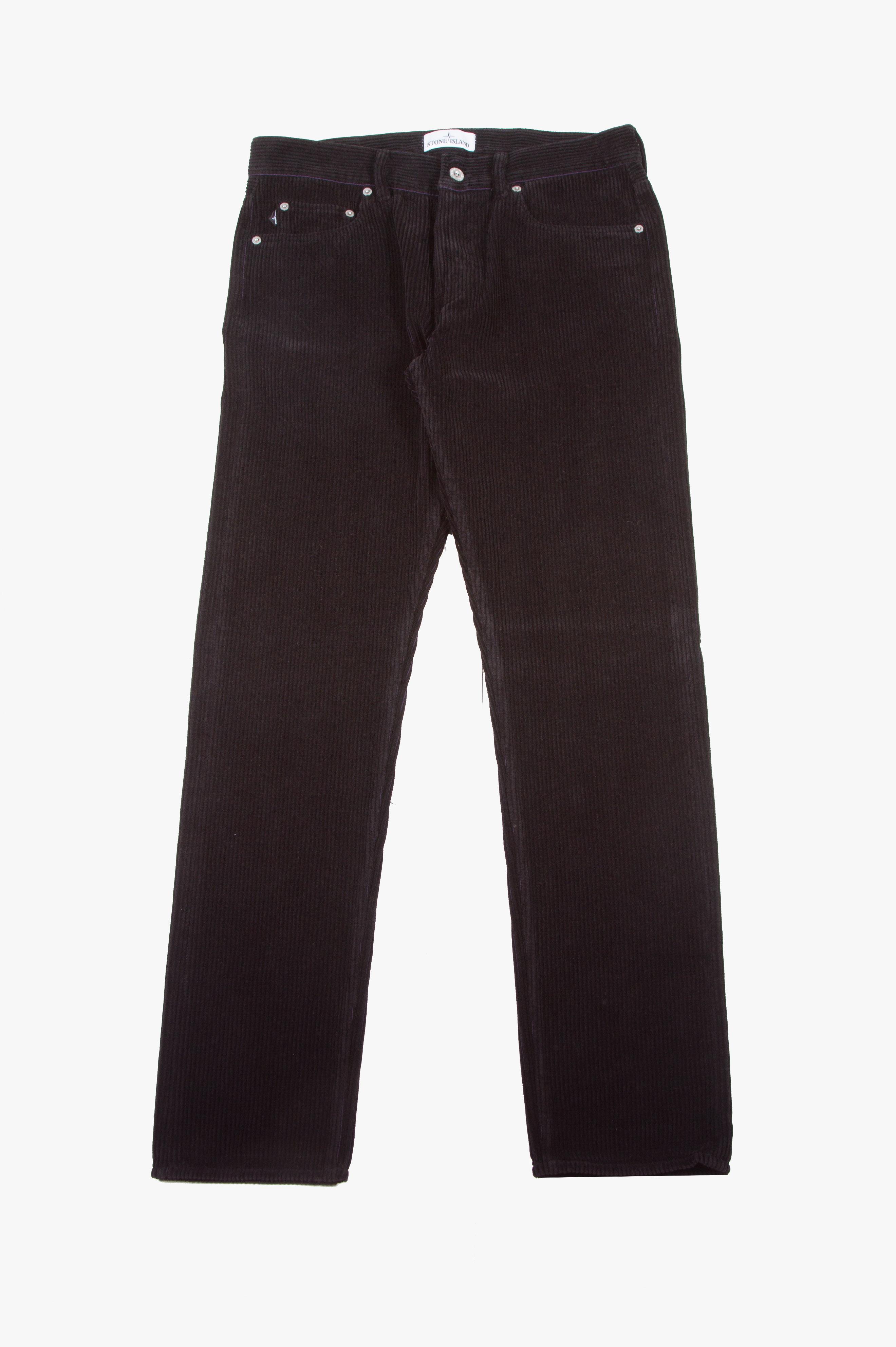 Corduroy Pant Black