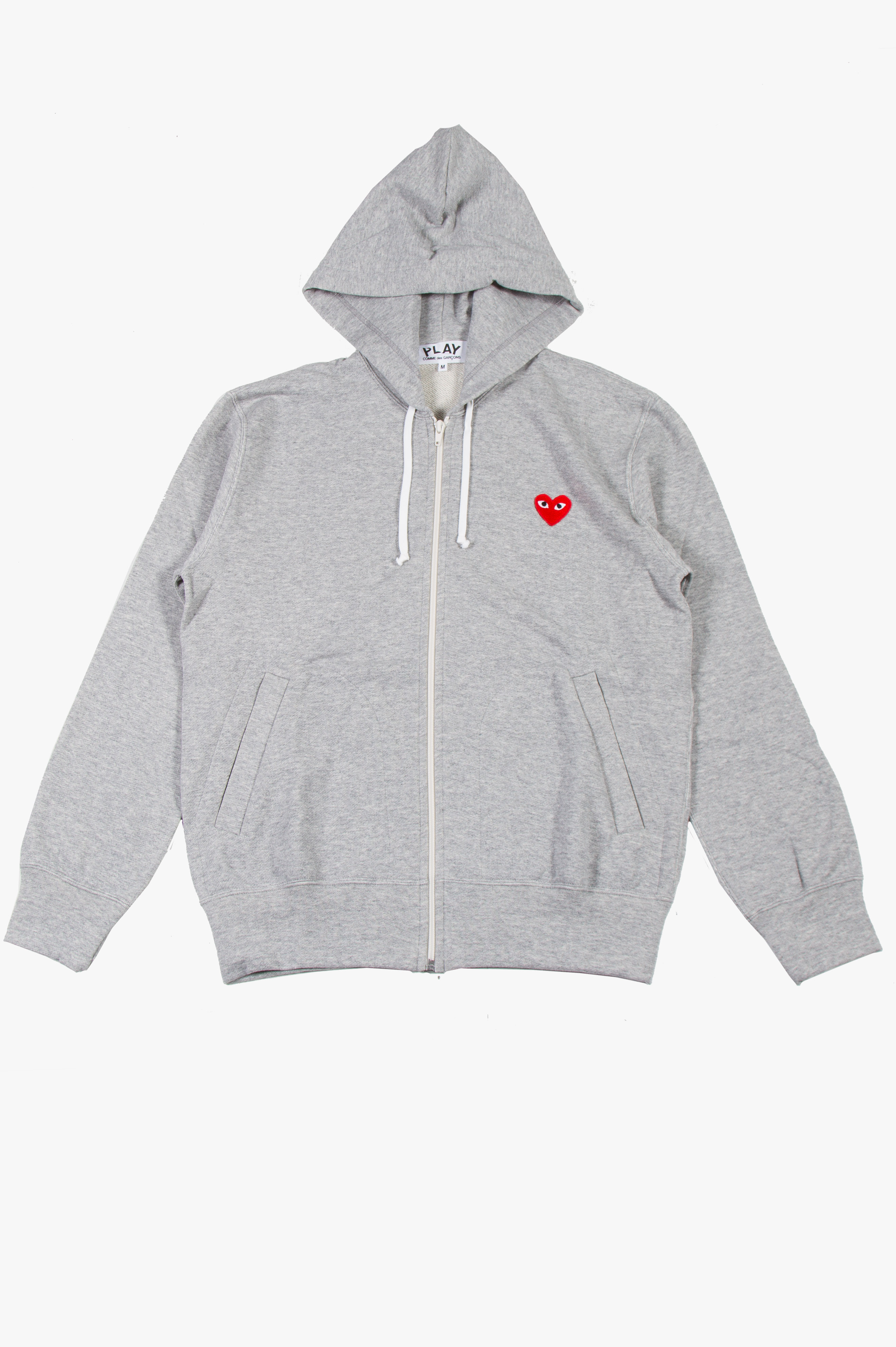 Zip Hooded Sweatshirt Grey