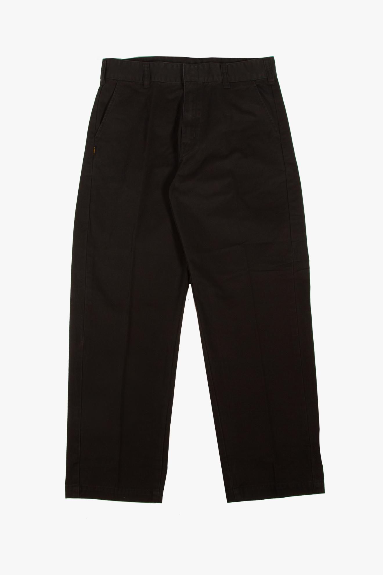 Kendall Basic Chino Pants Black