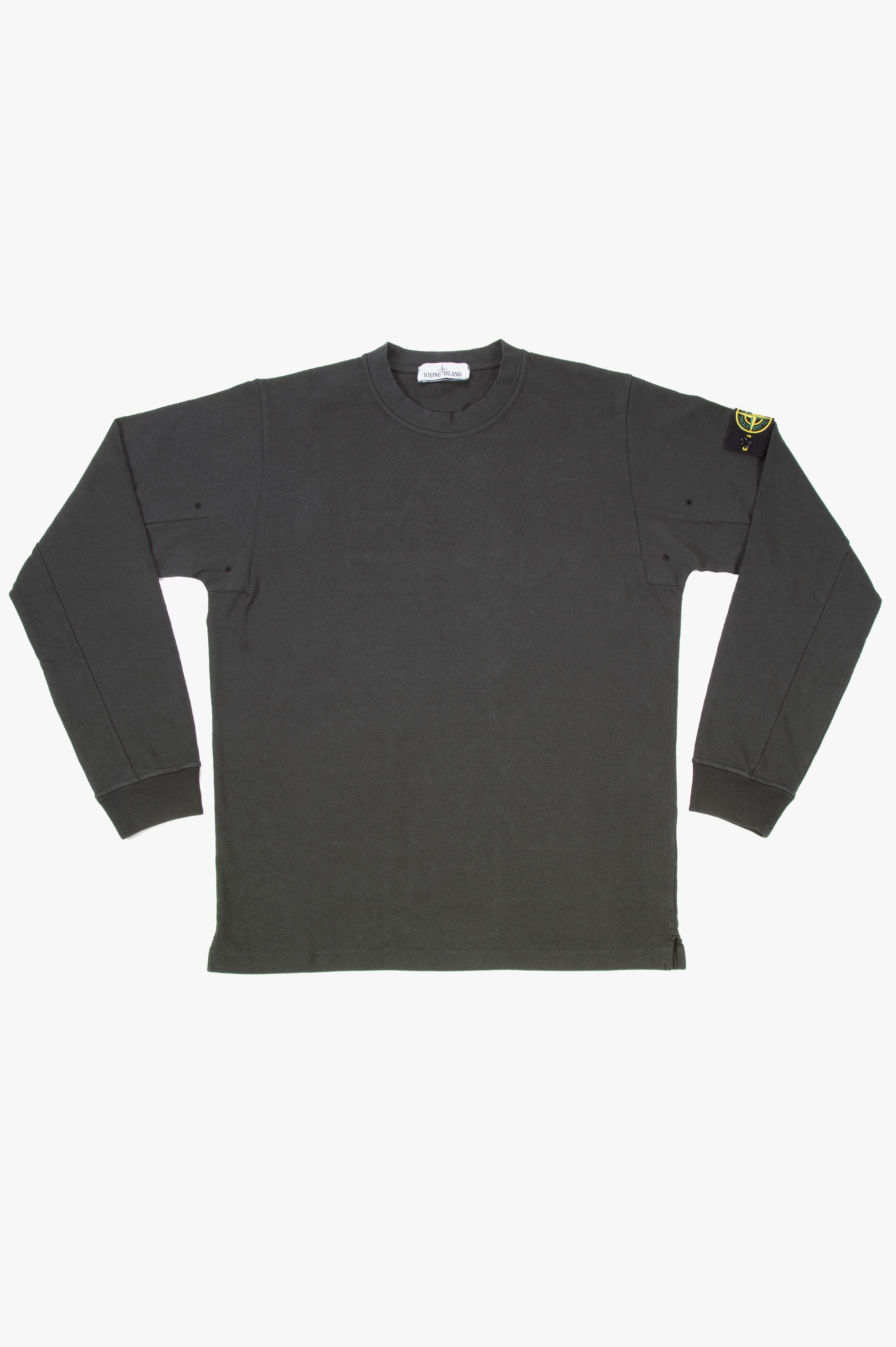 Crew Neck Long Sleeve T-Shirt Musk Green