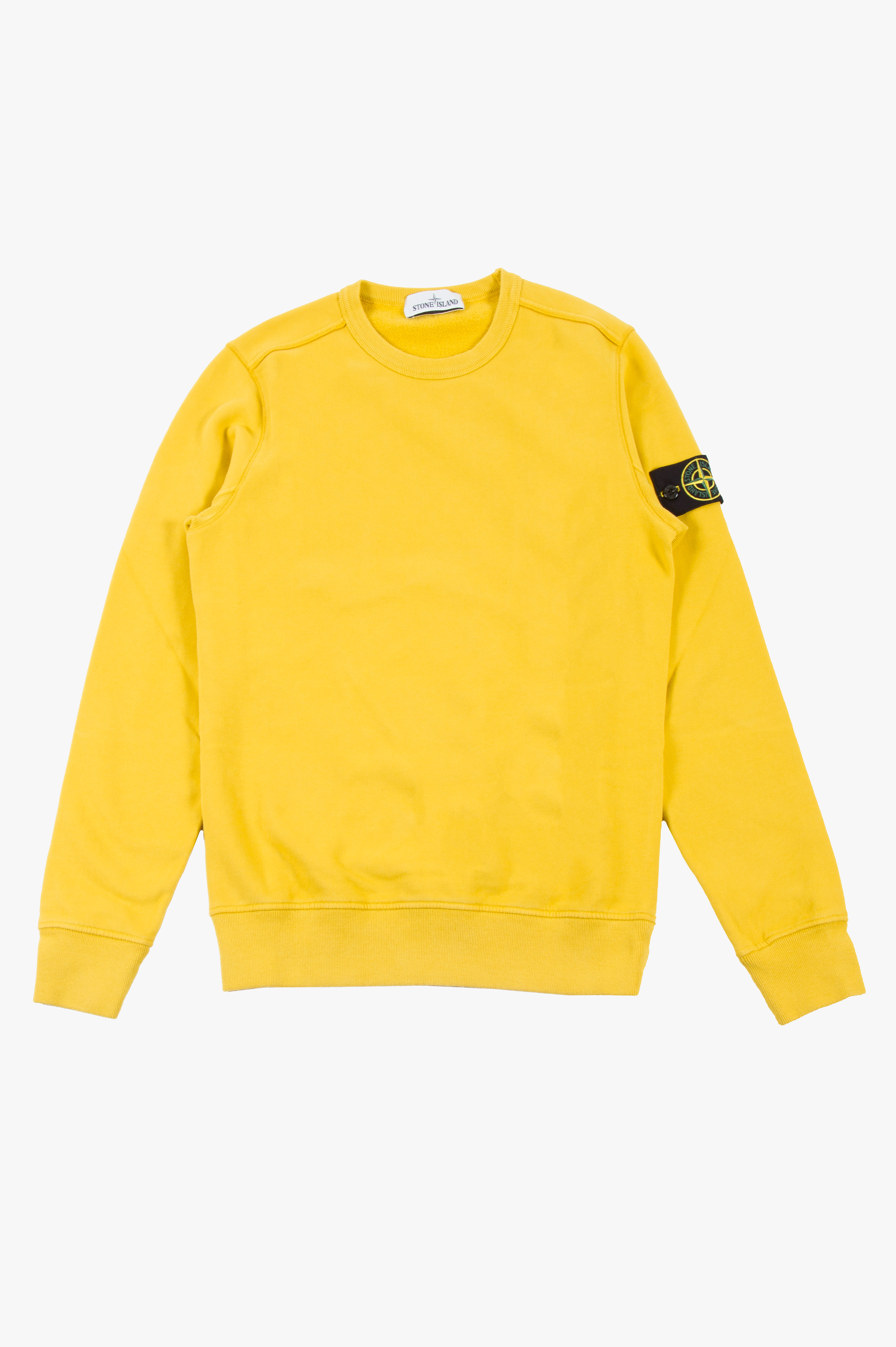 Cotton Fleece Sweatshirt Mustard