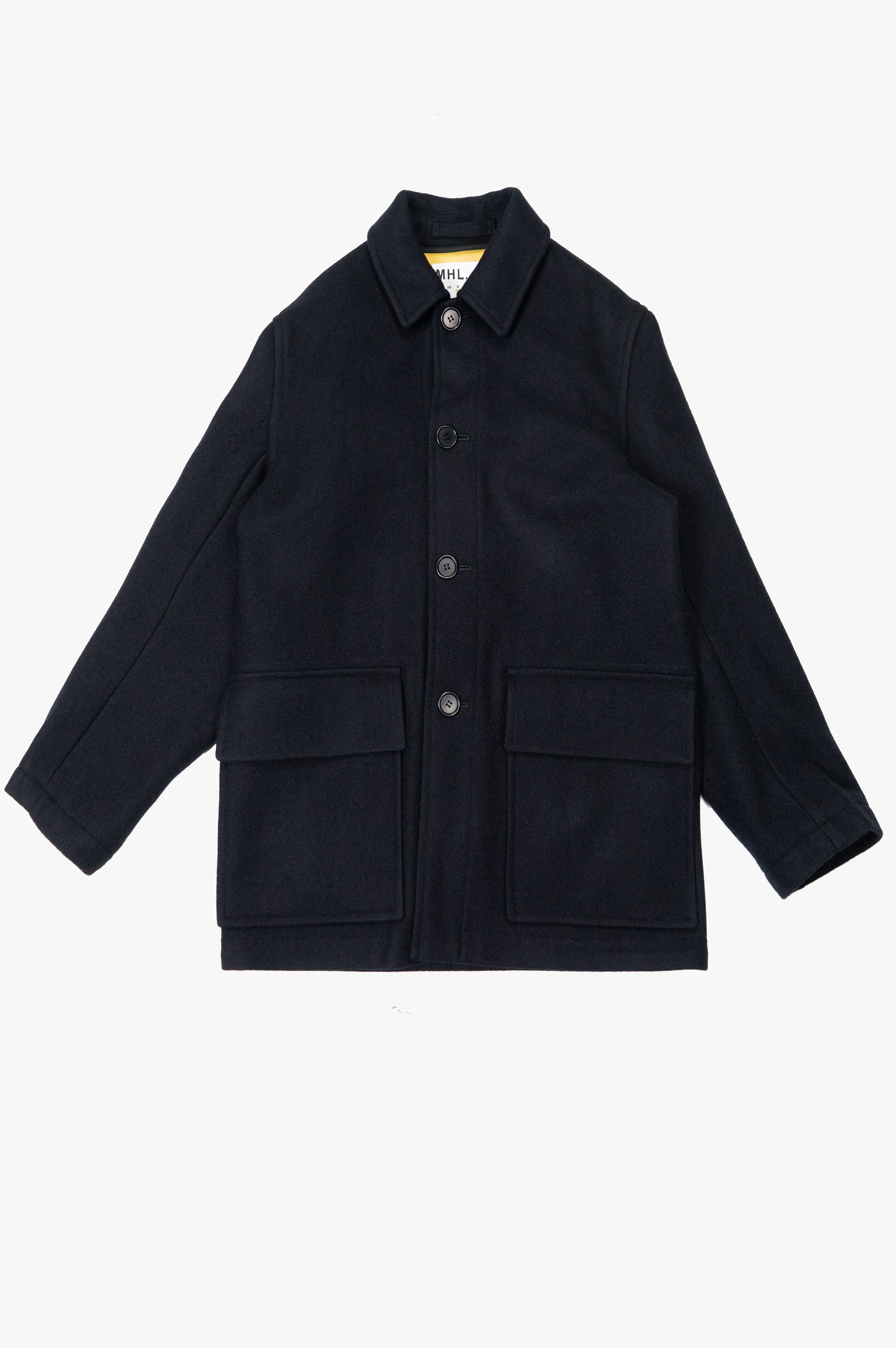Worker Coat Military Melton Midnight