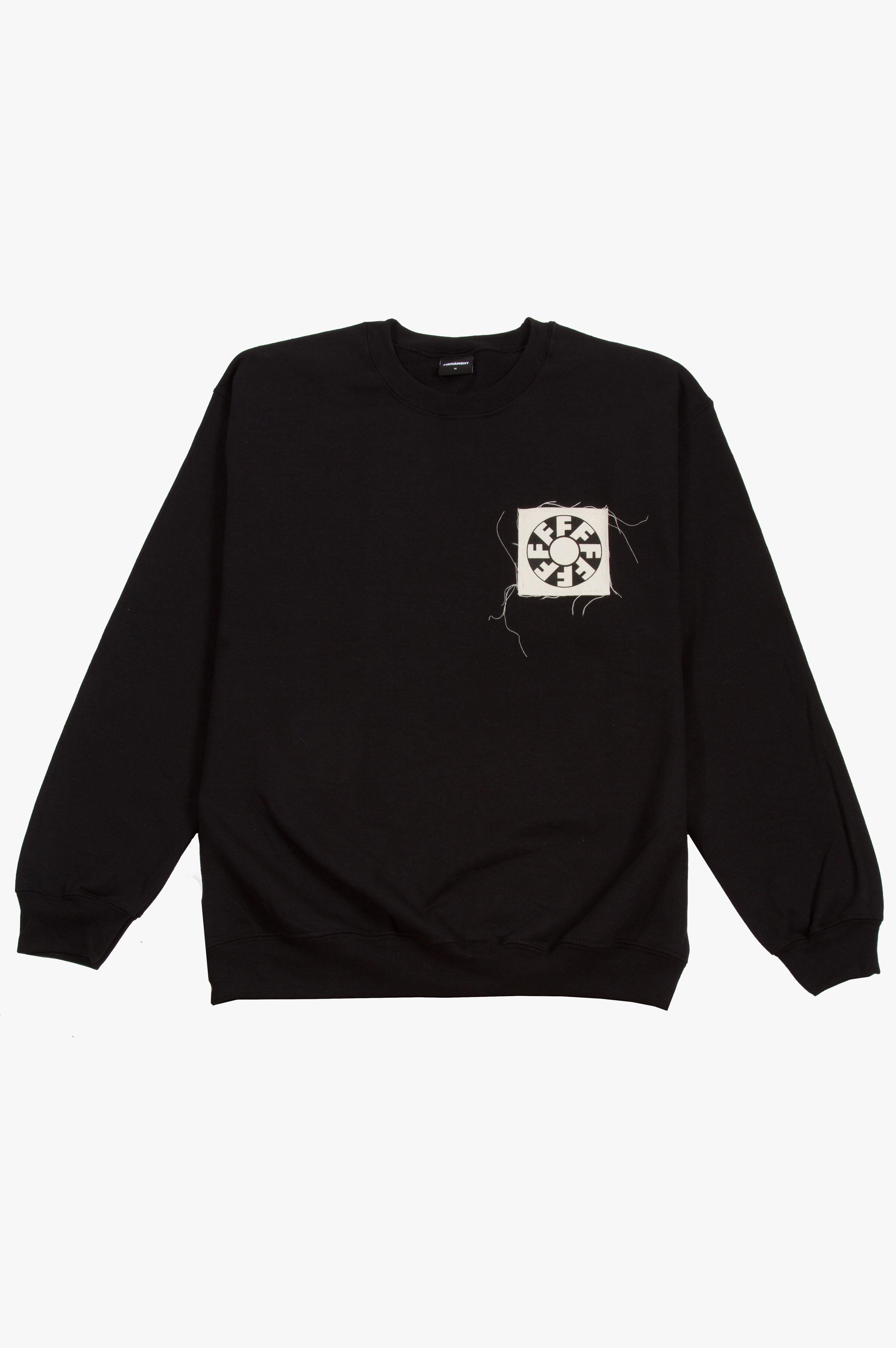 ITI Patch Sweatshirt Black
