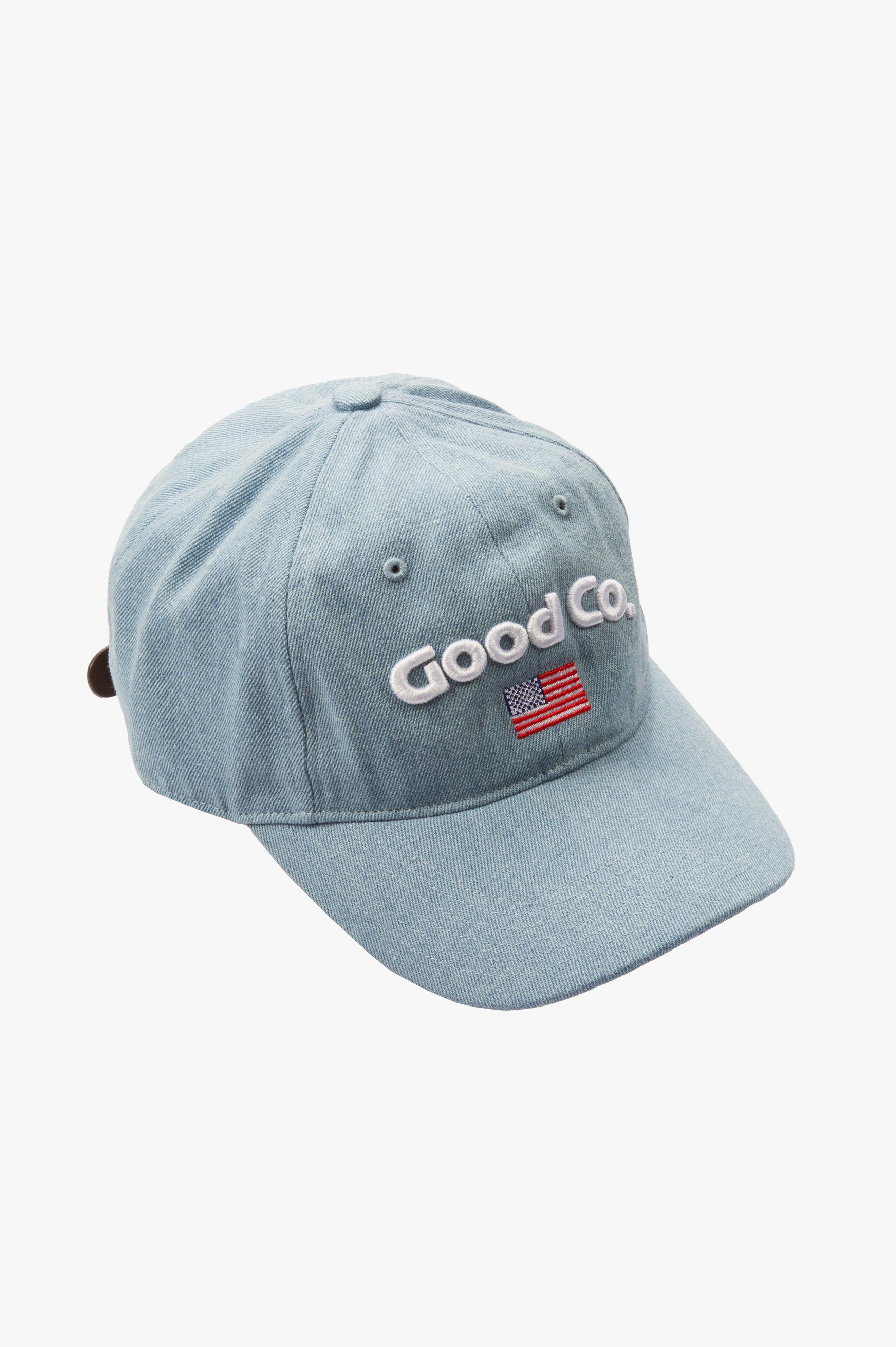 x THE GOOD COMPANY Cap Blue