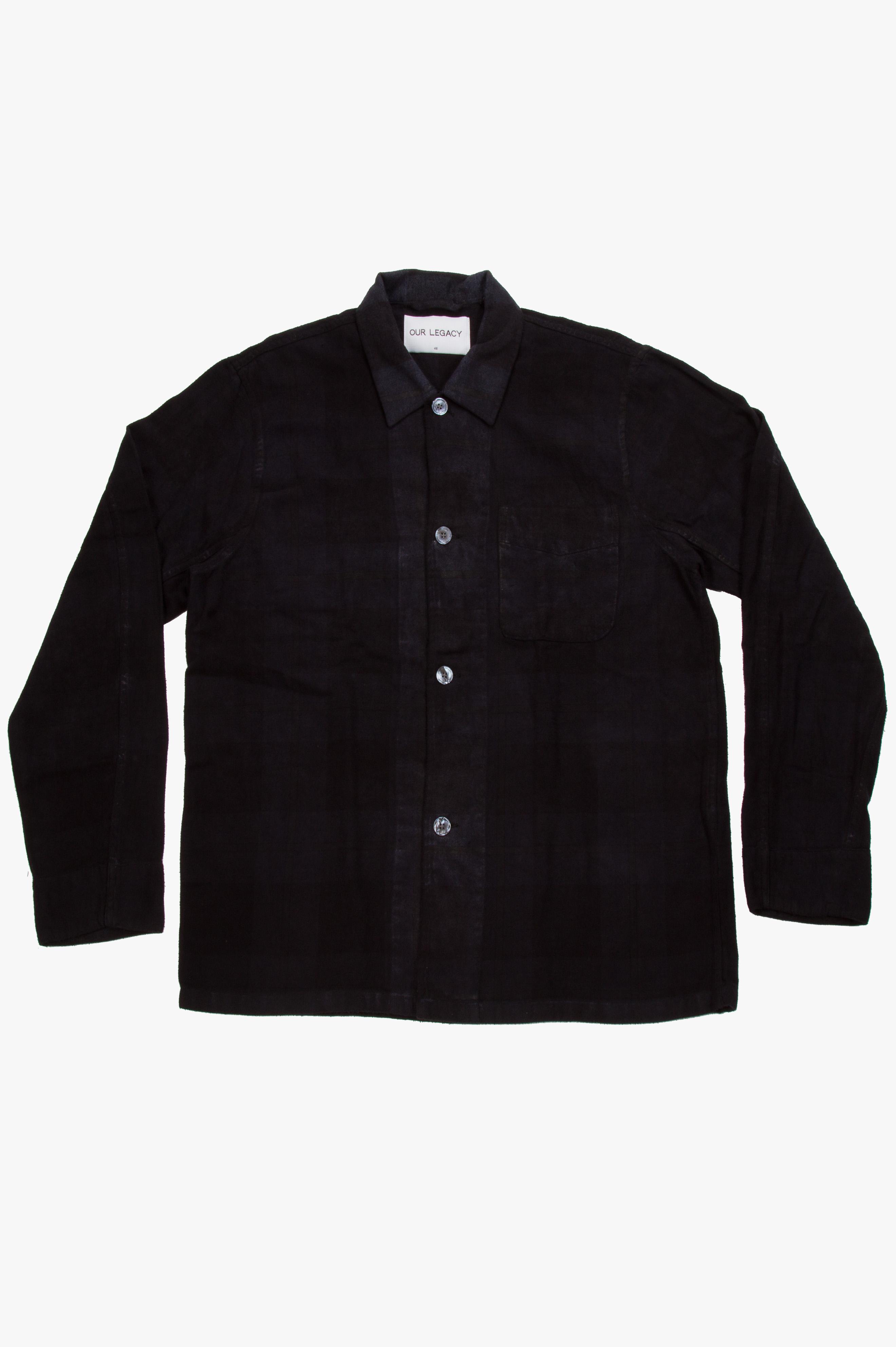 Box Shirt Overdyed Check