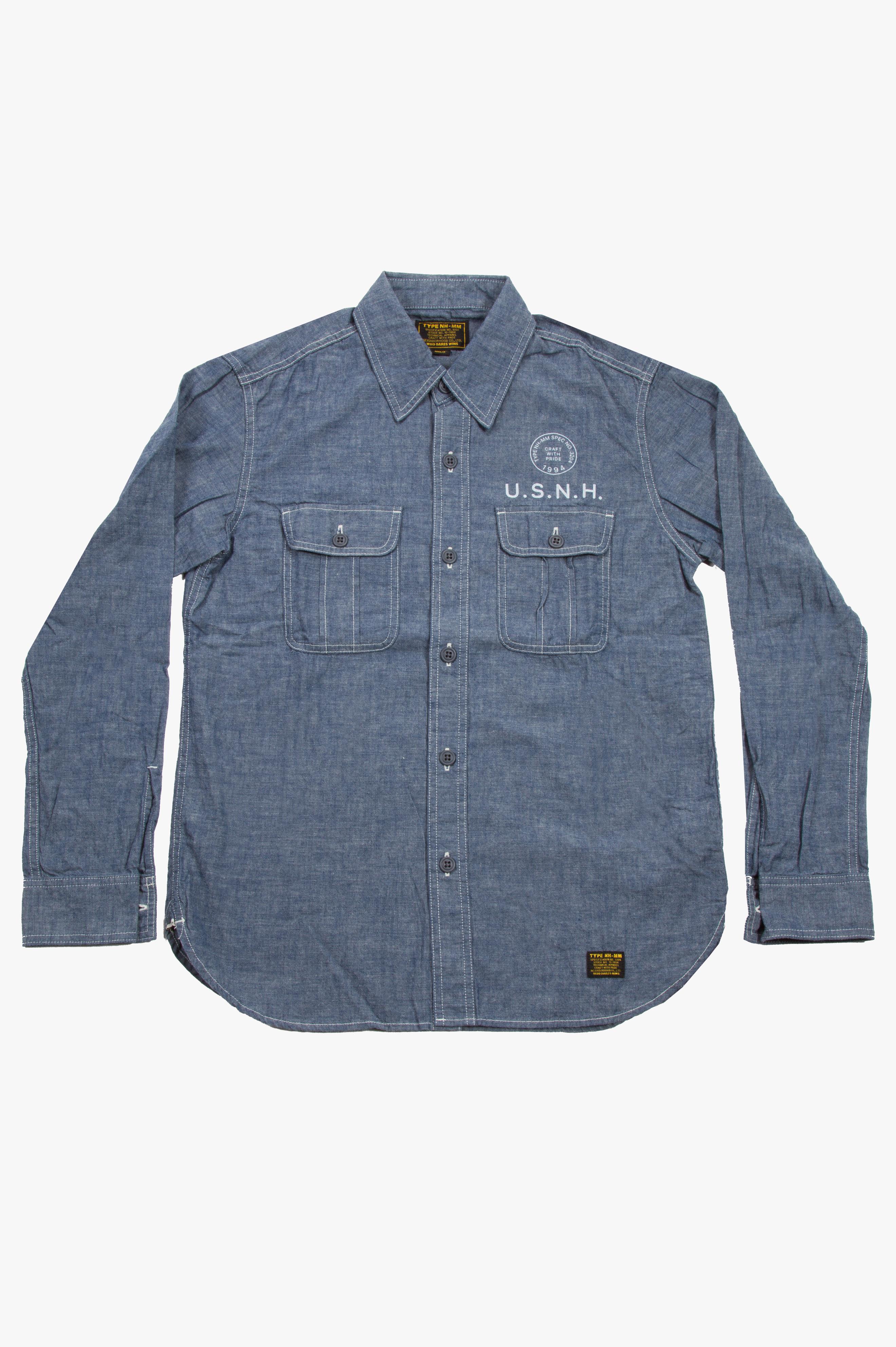 U.S.N.H. Shirt Indigo