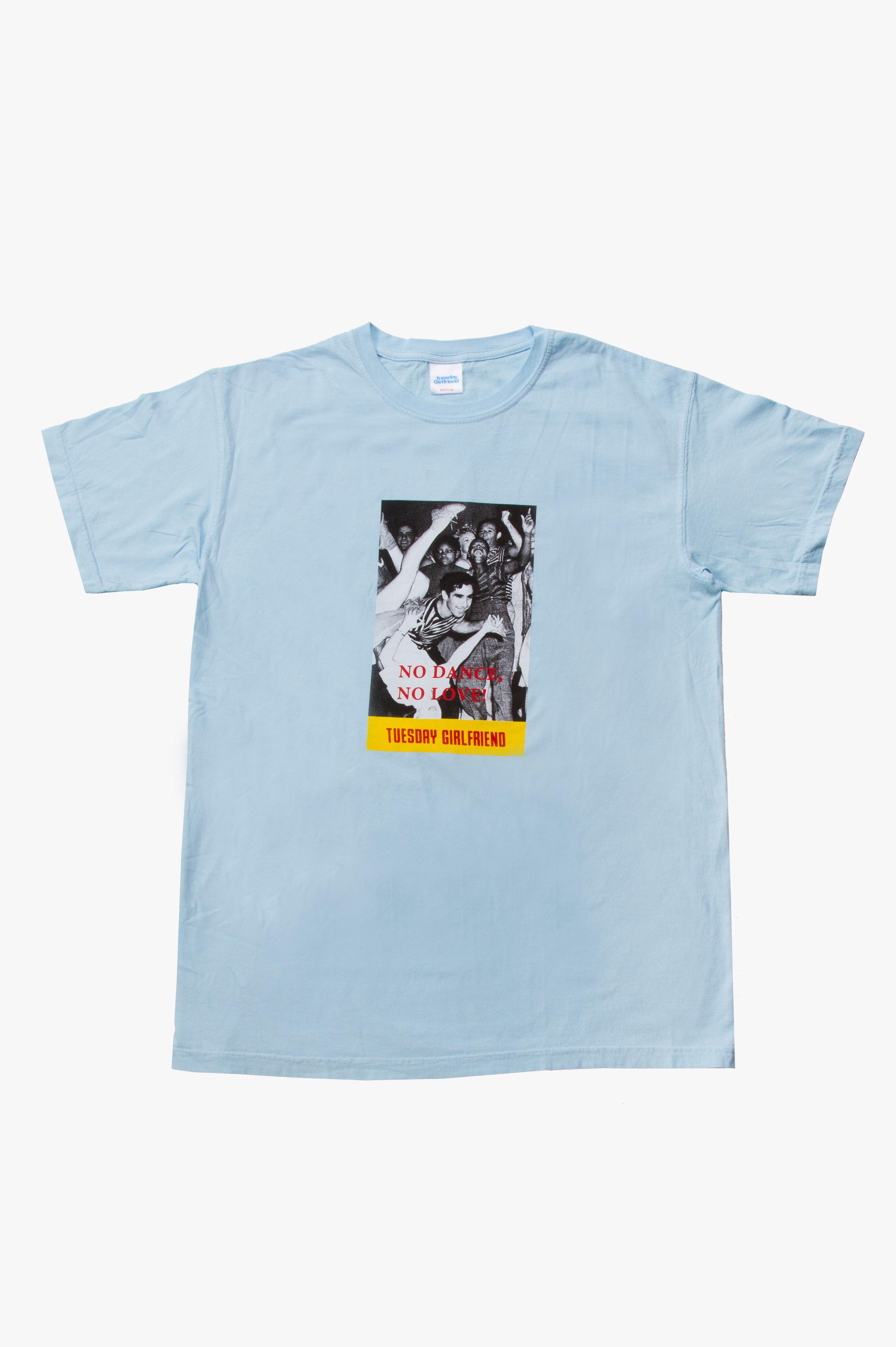 No Dance T-Shirt Light Blue