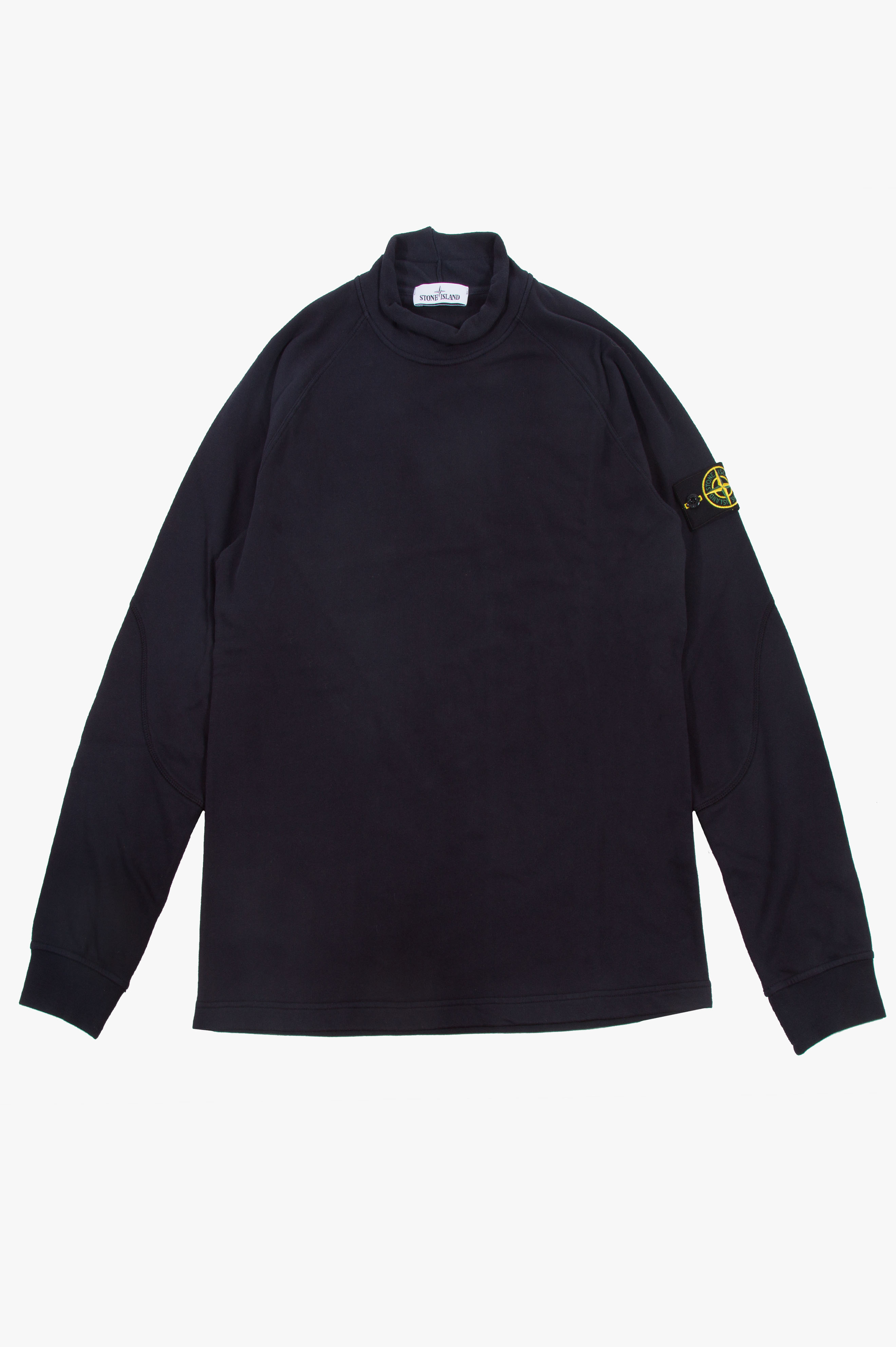 Mock Neck Sweatshirt Navy