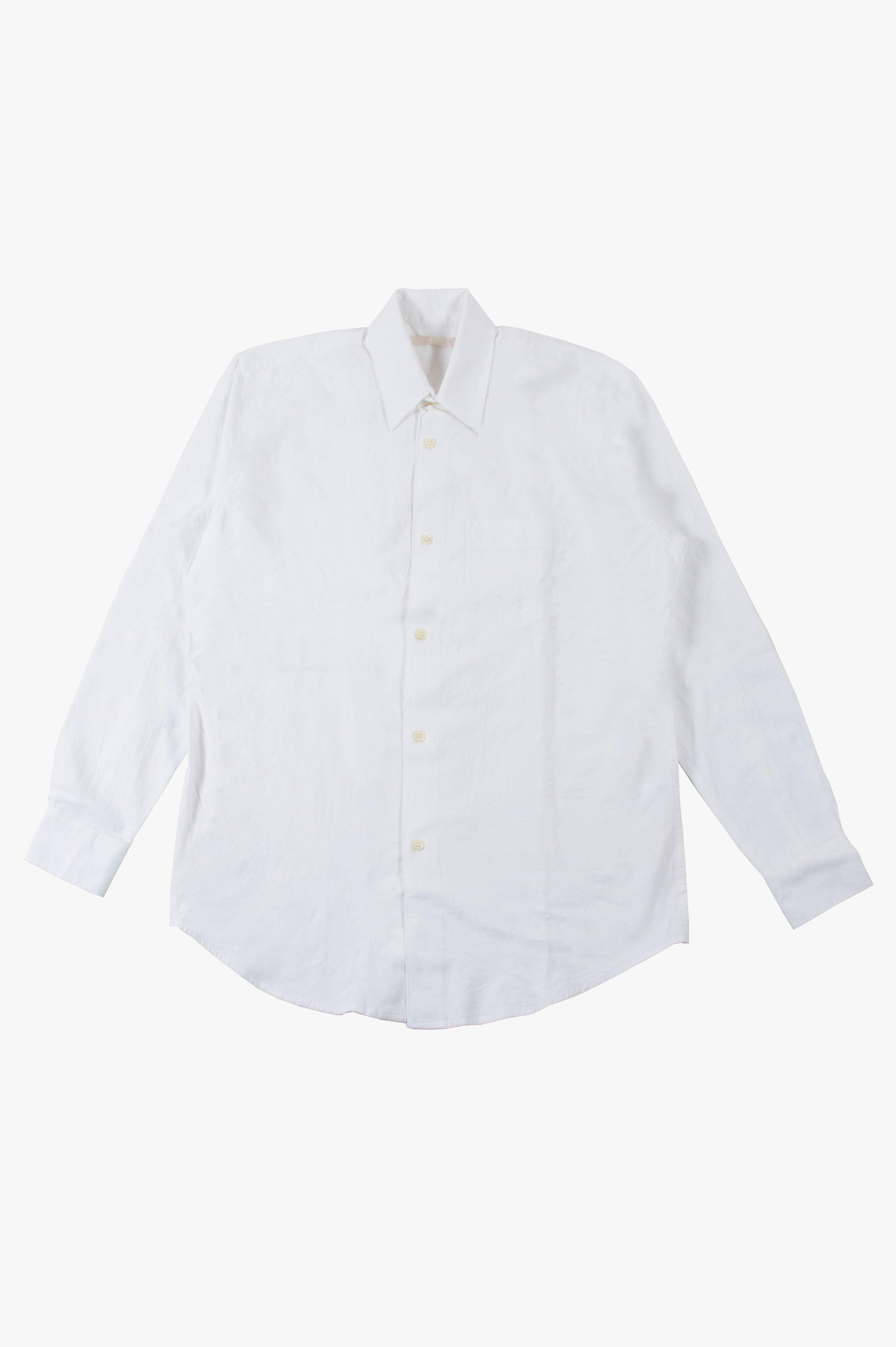 Initial Shirt White