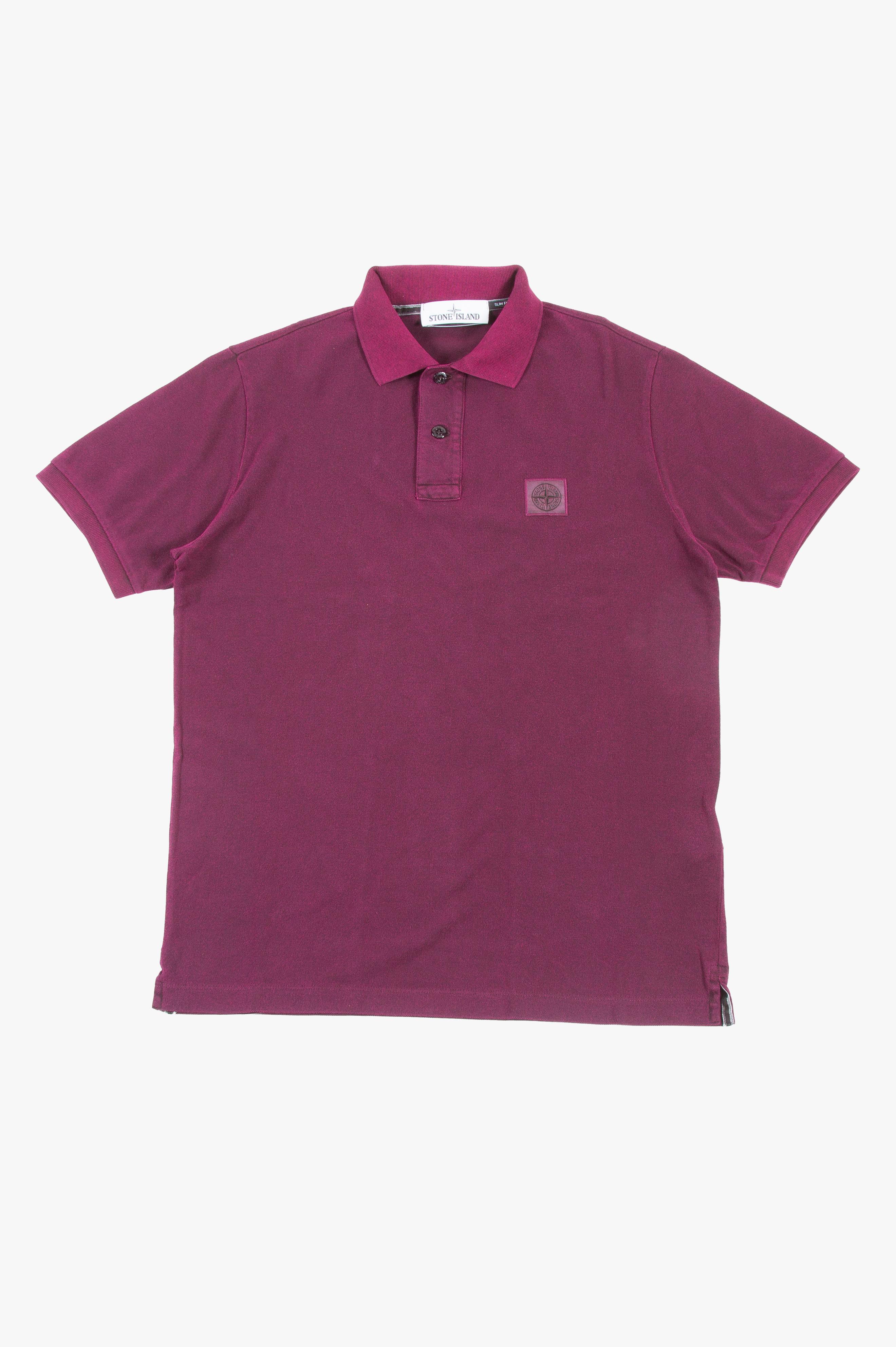 Piqué Short Sleeve Polo Magenta