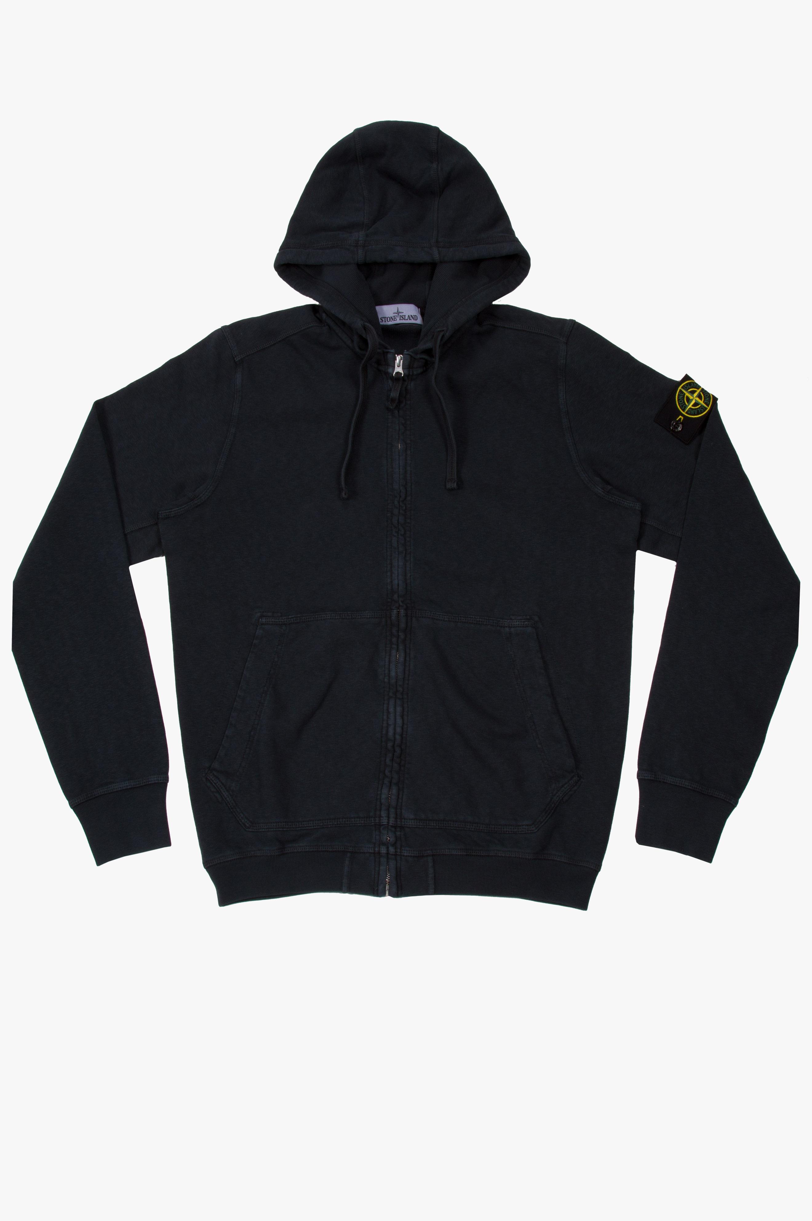 Zip Hooded Sweatshirt Anthracite