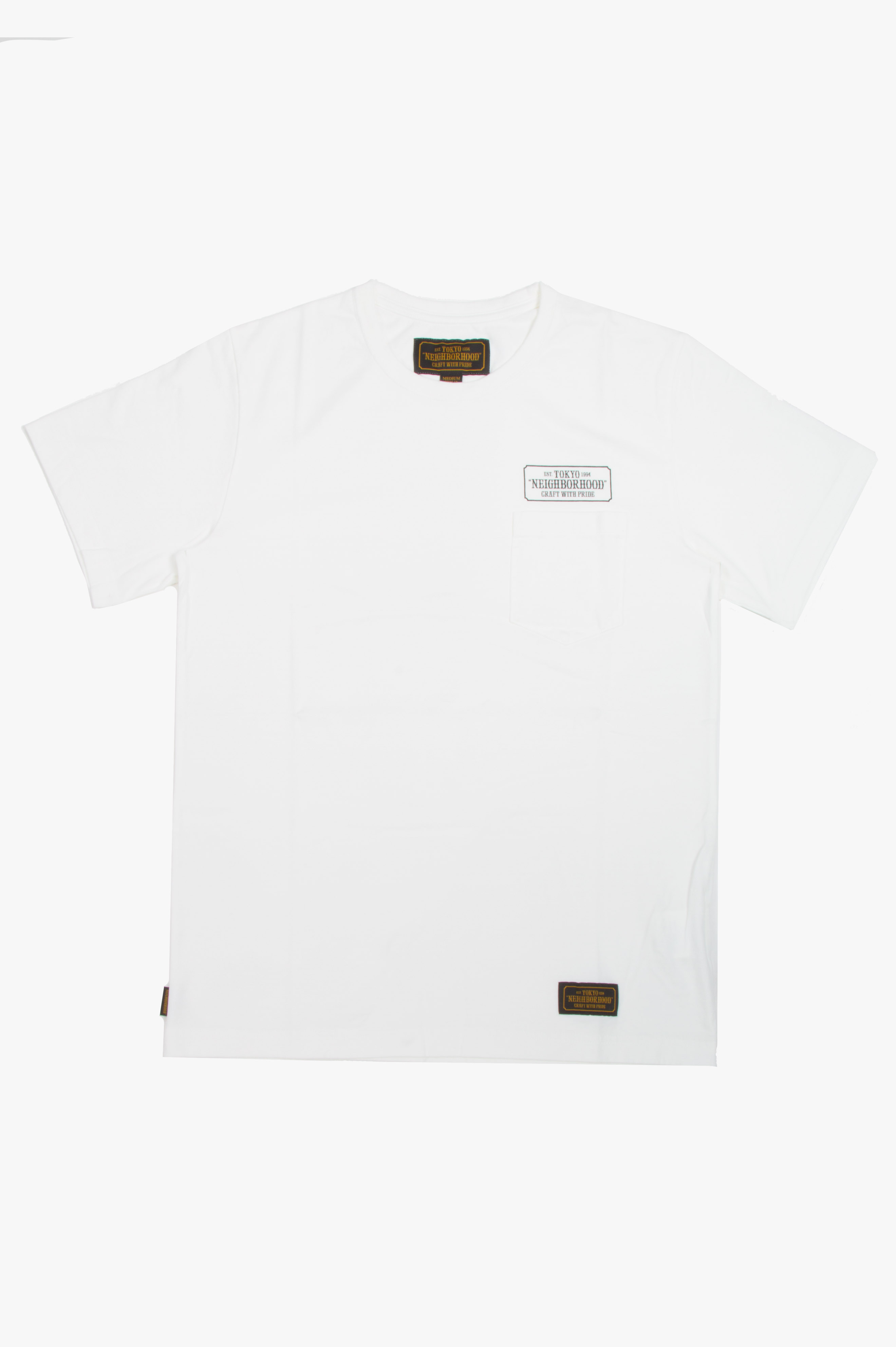 Bar & Shield T-Shirt White