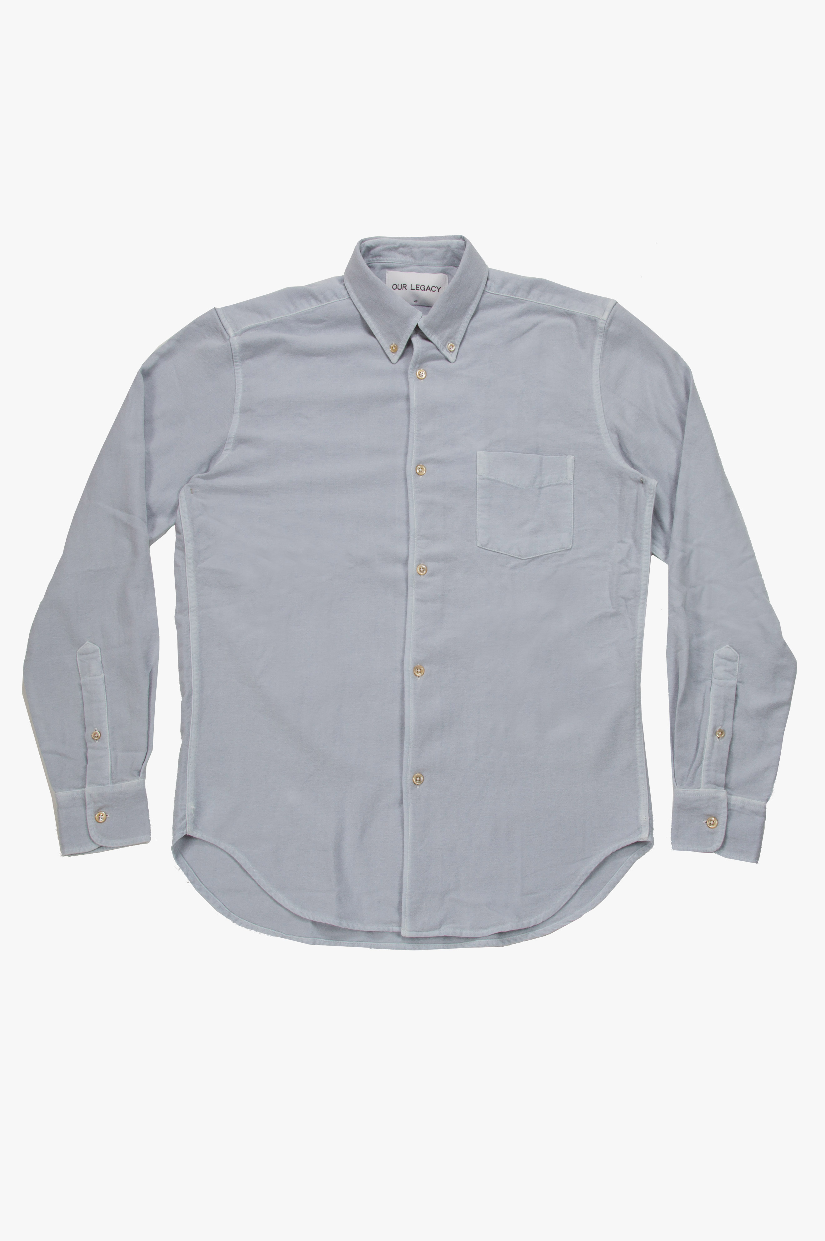 1950's Shirt Snowgrey Ultimate Flannel