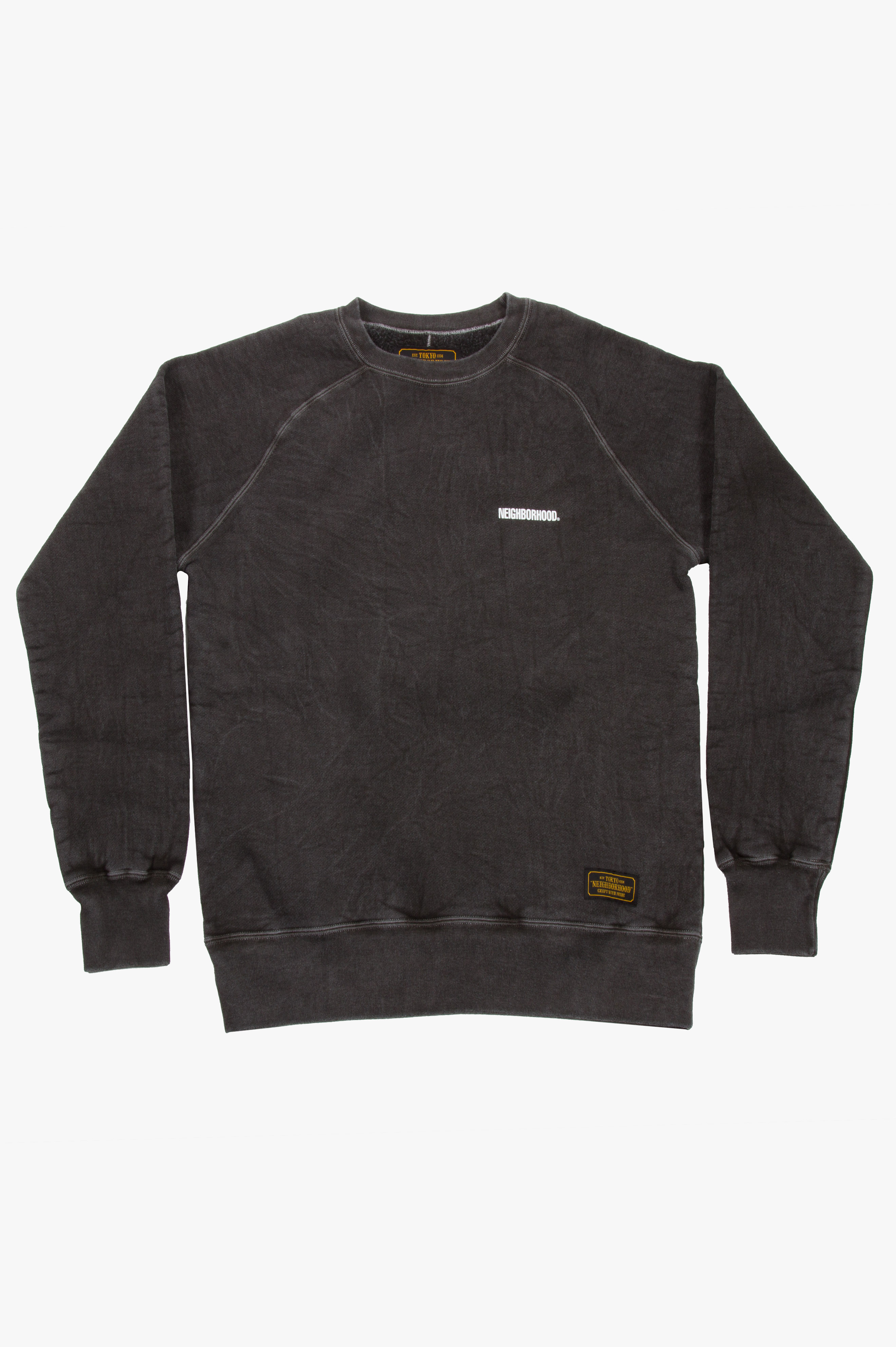 Classic-S C-Crew Sweatshirt Black
